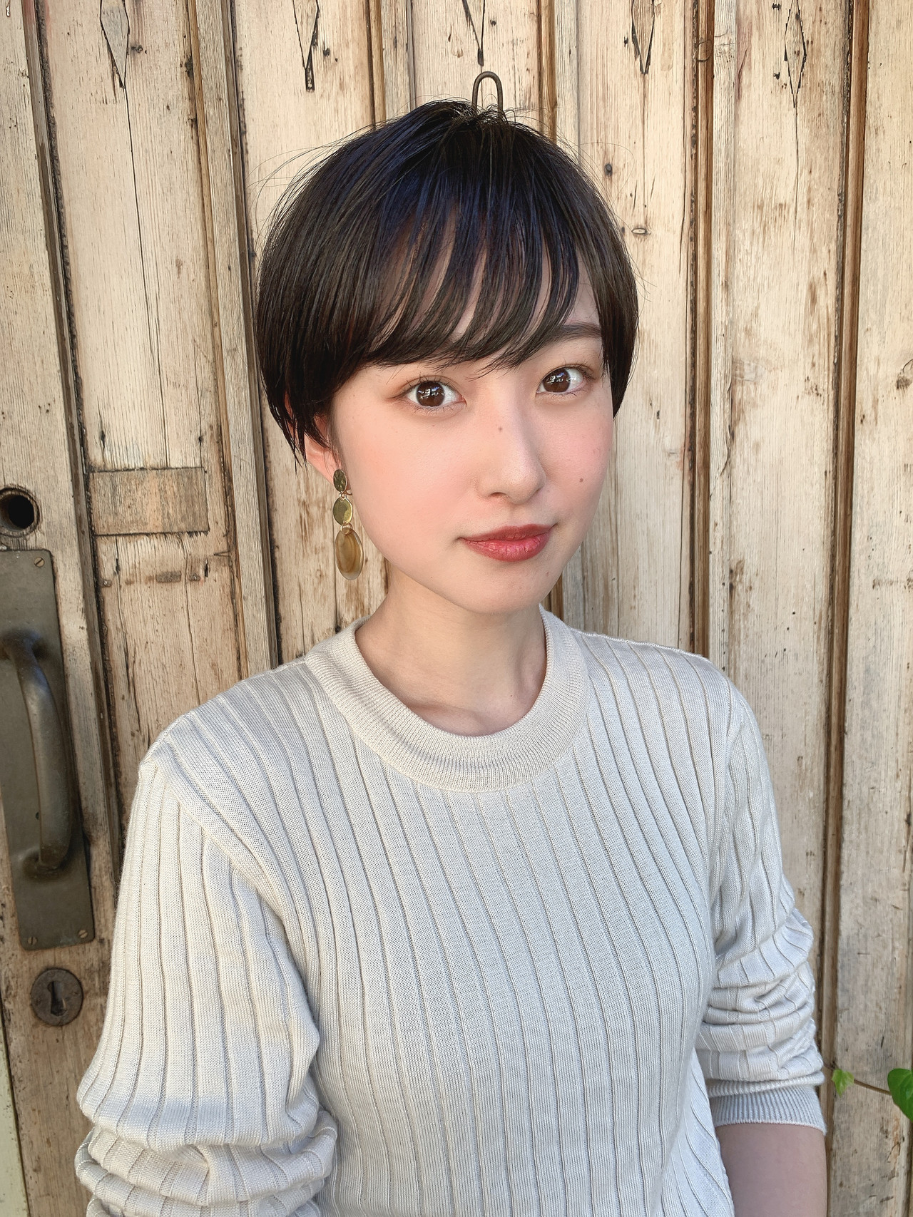 ショートヘア 横顔美人 流し前髪 ショート ヘアスタイルや髪型の写真・画像   山口 健太 / Lond ange