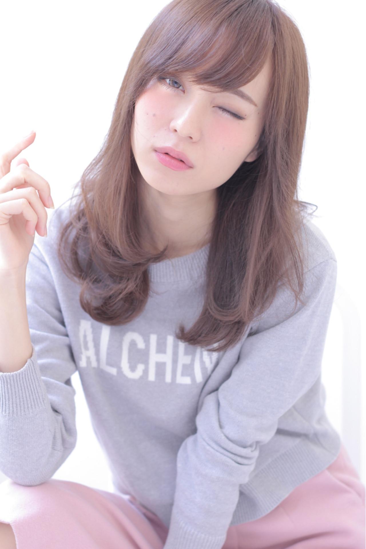 ナチュラル アッシュ ゆるふわ 前髪あり ヘアスタイルや髪型の写真・画像 | 石田 学史 / DISHEL