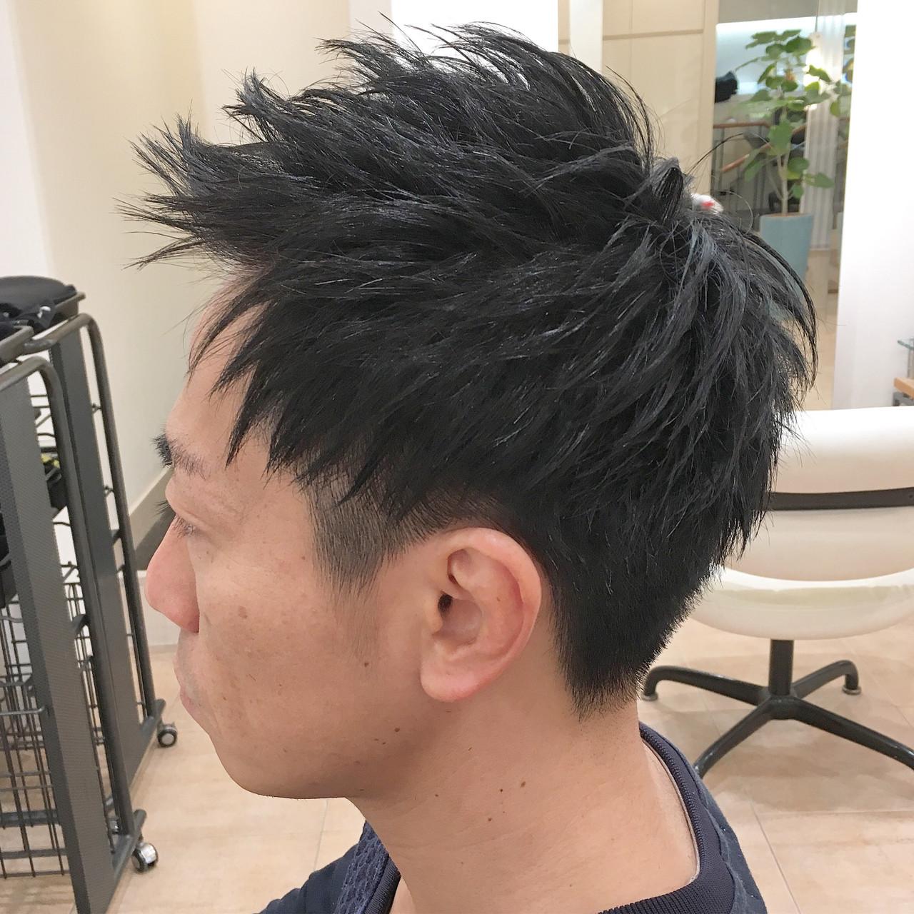 メンズショート ナチュラル メンズ メンズヘア ヘアスタイルや髪型の写真・画像 | 平本 詠一 / fabris