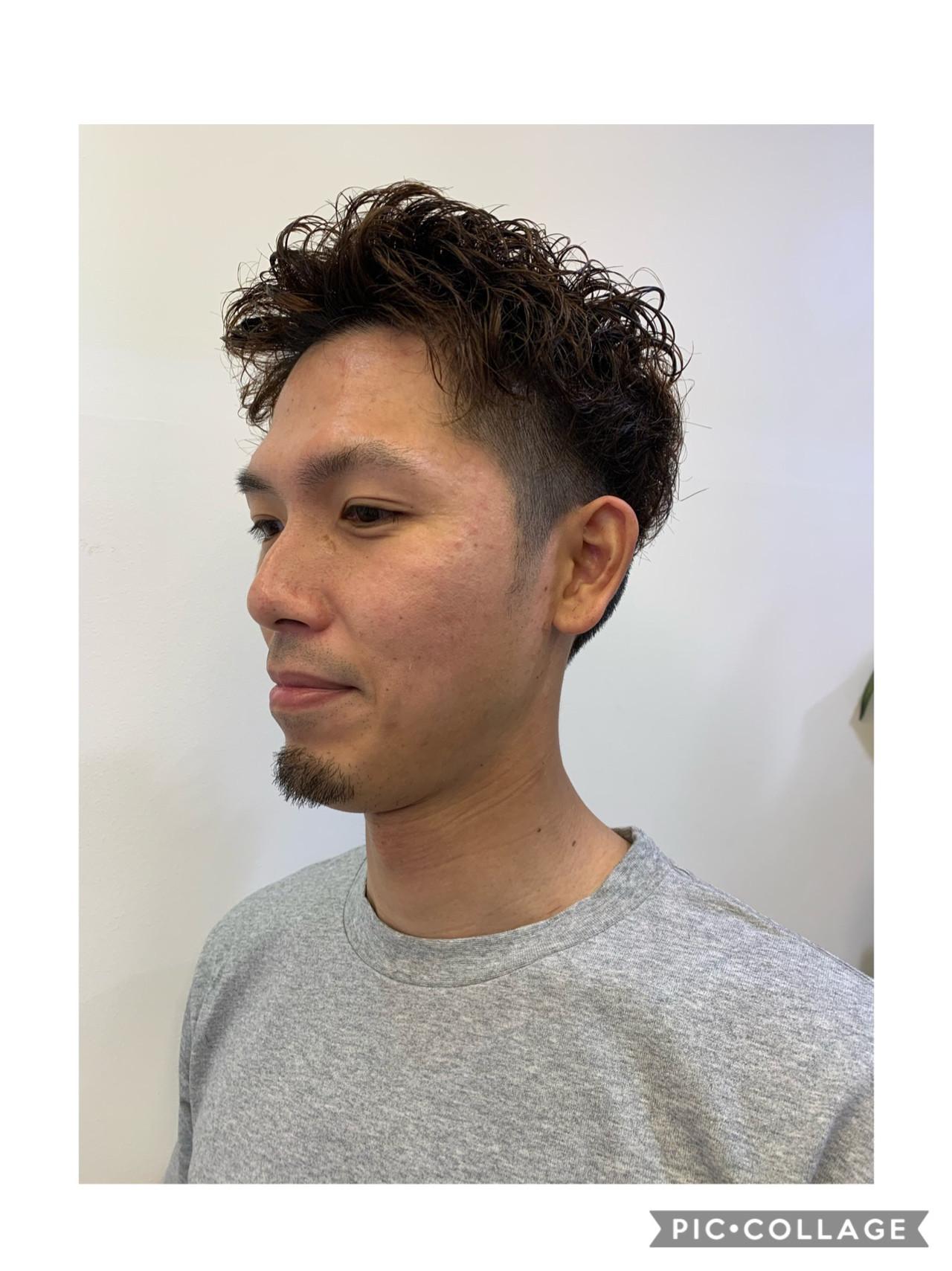 ストリート メンズカット メンズヘア ショート ヘアスタイルや髪型の写真・画像   飯島 直彬 / SEES HAIR