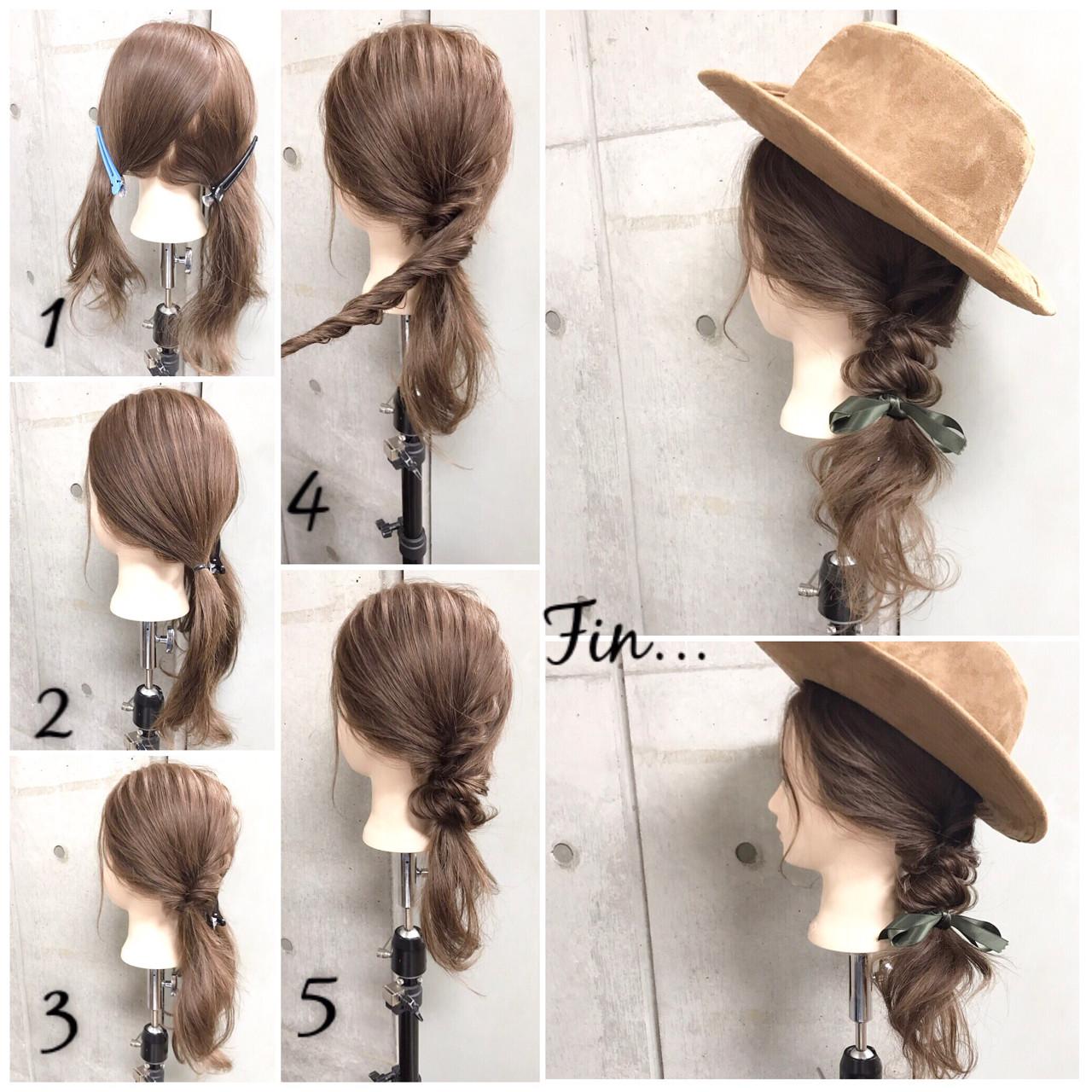 大人女子 簡単ヘアアレンジ ヘアアレンジ ショートヘアスタイルや髪型の写真・画像