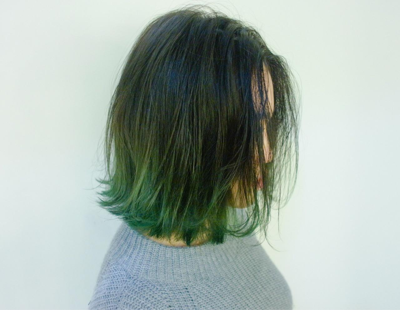 ボブ 外国人風 グラデーションカラー ストリート ヘアスタイルや髪型の写真・画像 | 宮地 SHACHU / SHACHU シャチュー