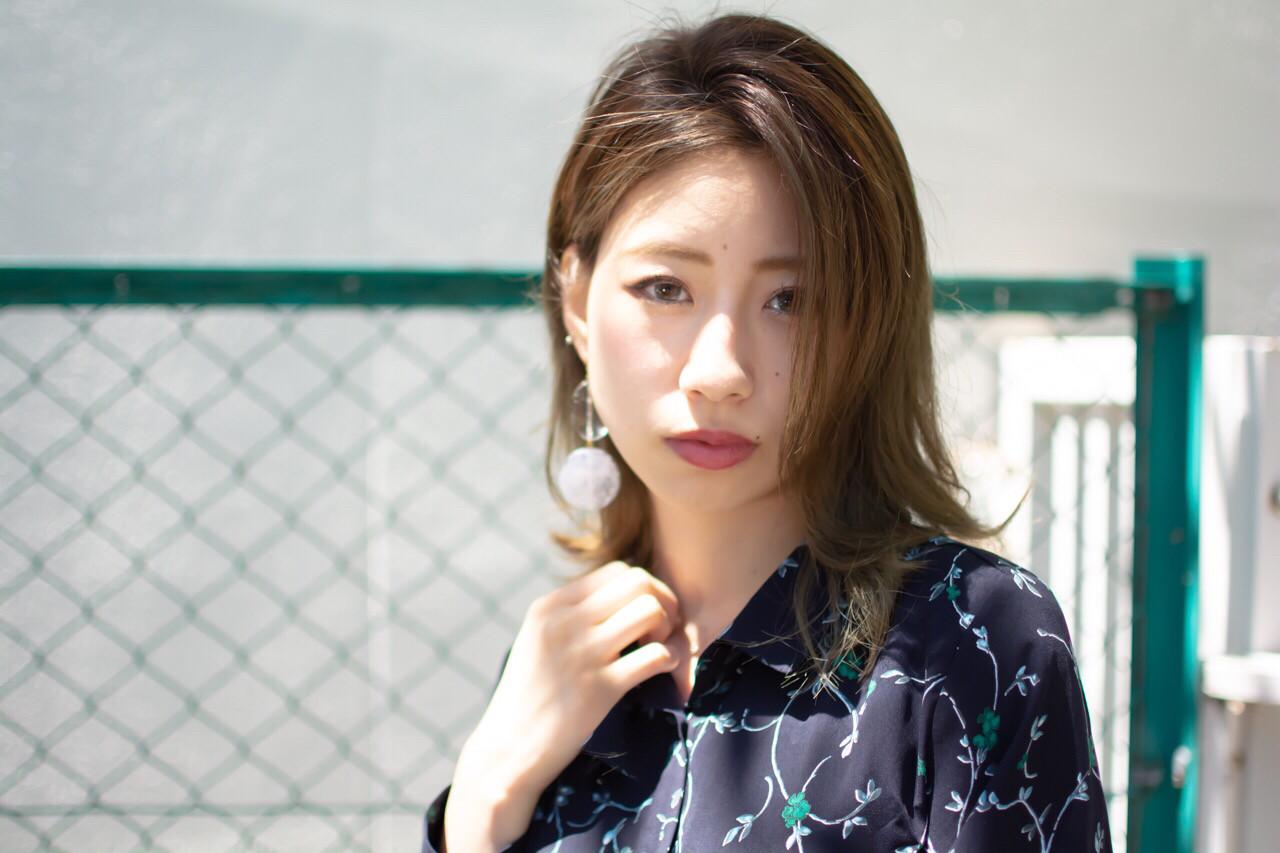オフィス ナチュラル 抜け感 デート ヘアスタイルや髪型の写真・画像 | 【noine】斉藤 正敏 / noine