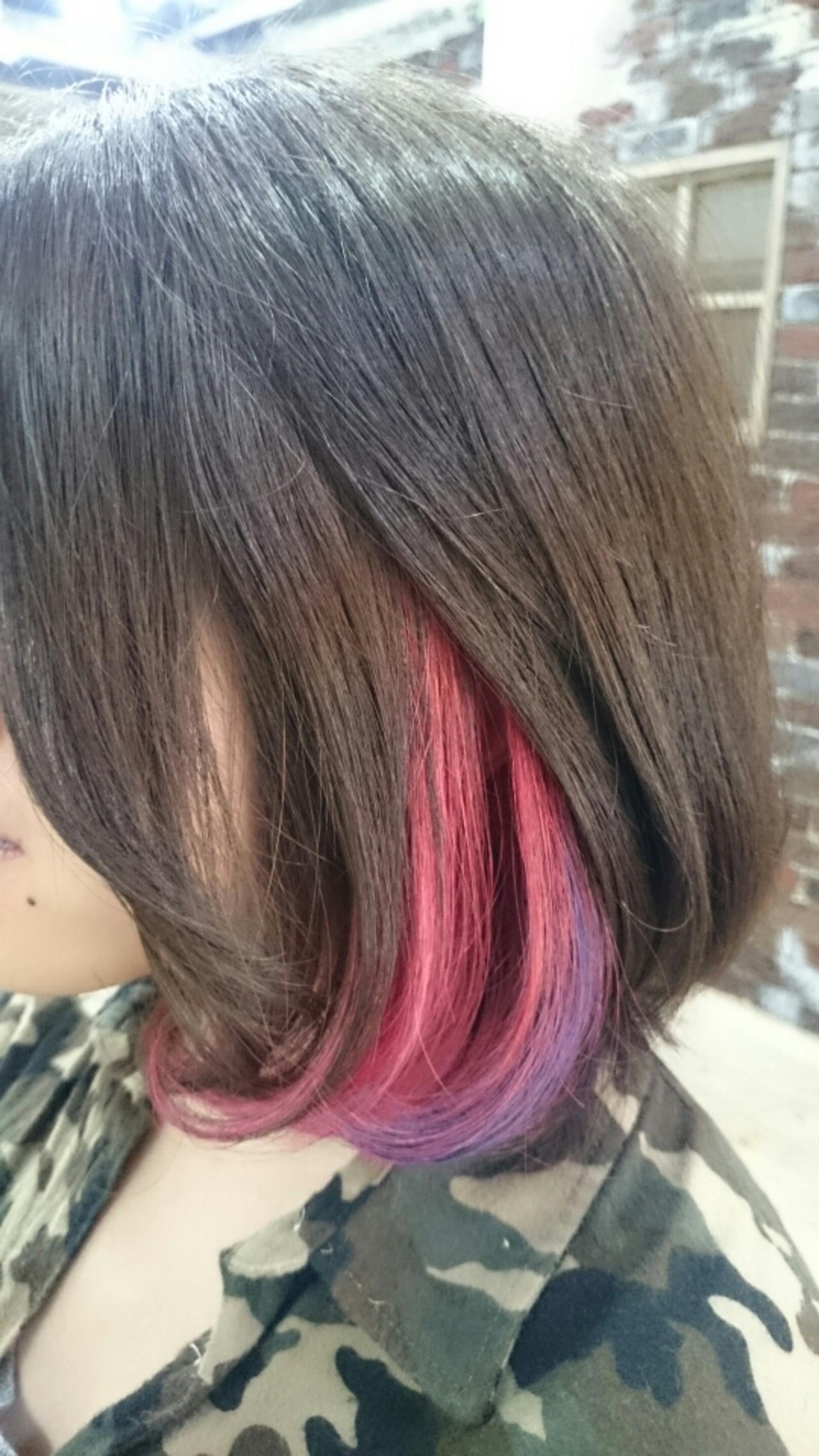 ハイライト ゆるふわ グラデーションカラー アッシュ ヘアスタイルや髪型の写真・画像 | 村松芳幸 / parade