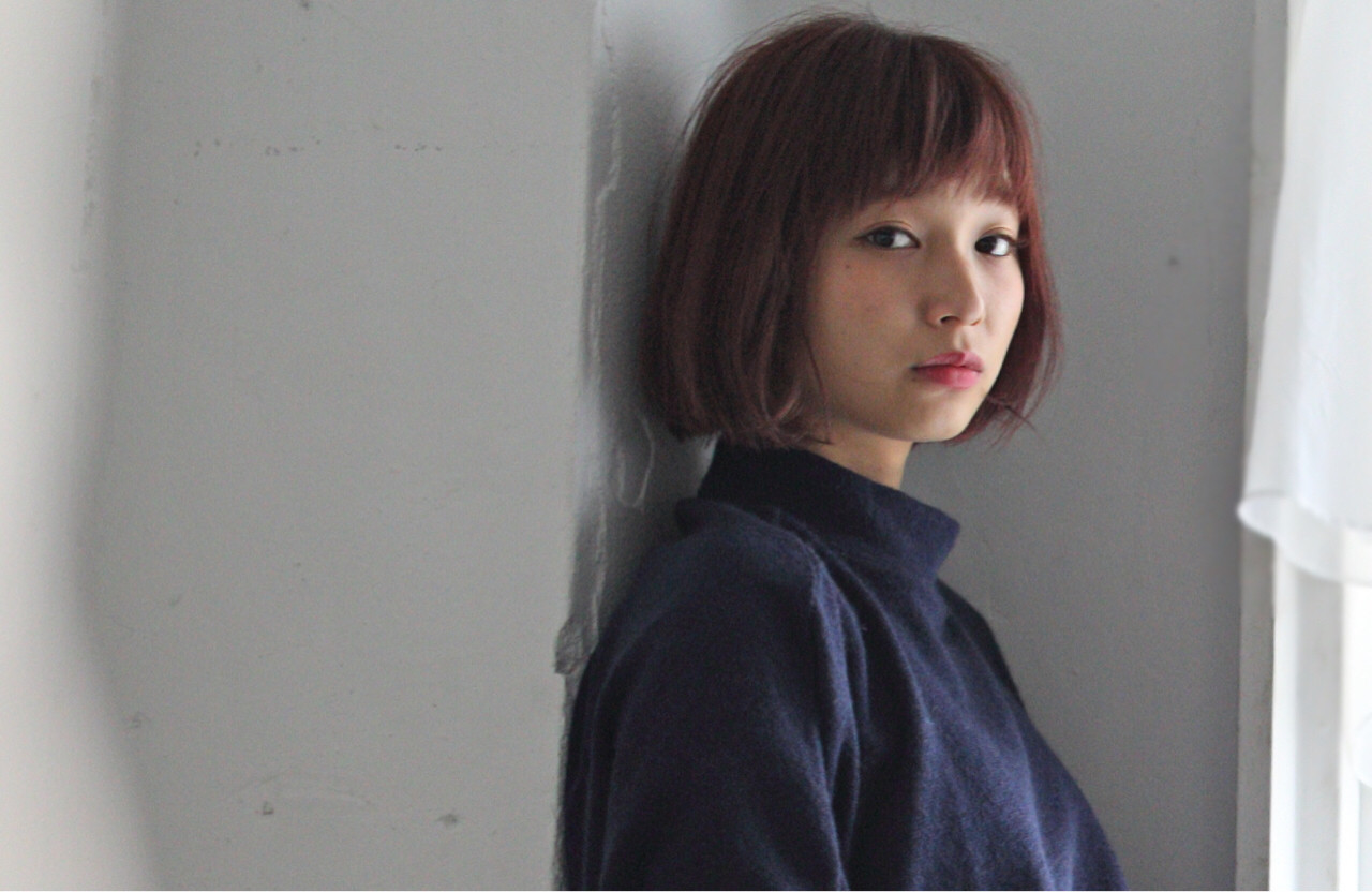 外国人風 大人かわいい ナチュラル ピンク ヘアスタイルや髪型の写真・画像 | 鈴木 祐一郎 / ZENKO 吉祥寺 Chere