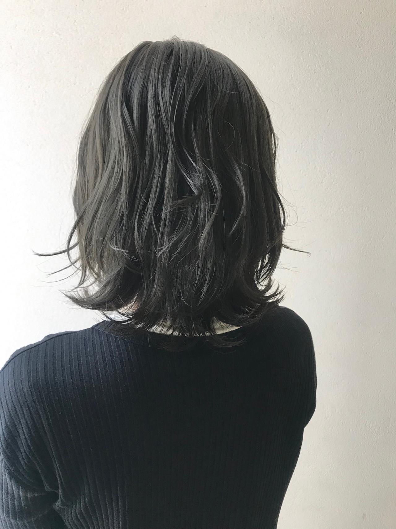 くびれボブ 大人ミディアム ミディアムレイヤー ミディアム ヘアスタイルや髪型の写真・画像 | 沢田 瞳 / owlhair