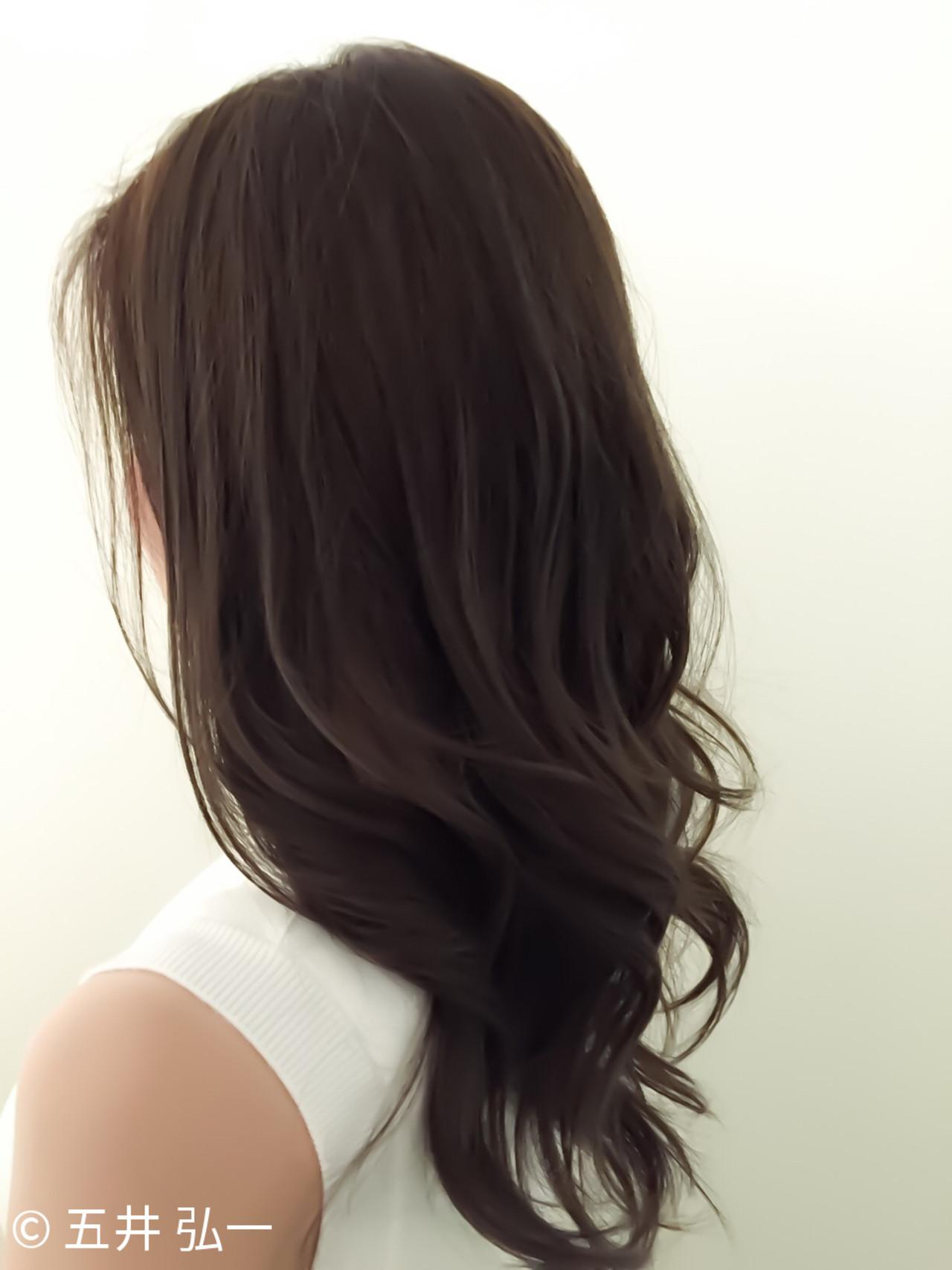 セミロング アッシュ ナチュラル 3Dカラー ヘアスタイルや髪型の写真・画像 | 五井 弘一/札幌 / ネオンズ 札幌駅JR55ビル店