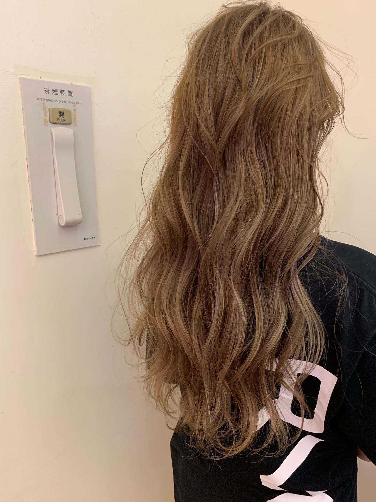 ロング 大人かわいい アンニュイほつれヘア スポーツ ヘアスタイルや髪型の写真・画像 | yumiko/sapporoSKNOW / SKNOW
