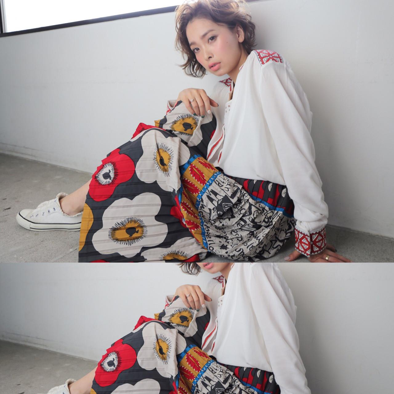 ショート 大人女子 色気 大人かわいい ヘアスタイルや髪型の写真・画像   imai yutaro / Aj