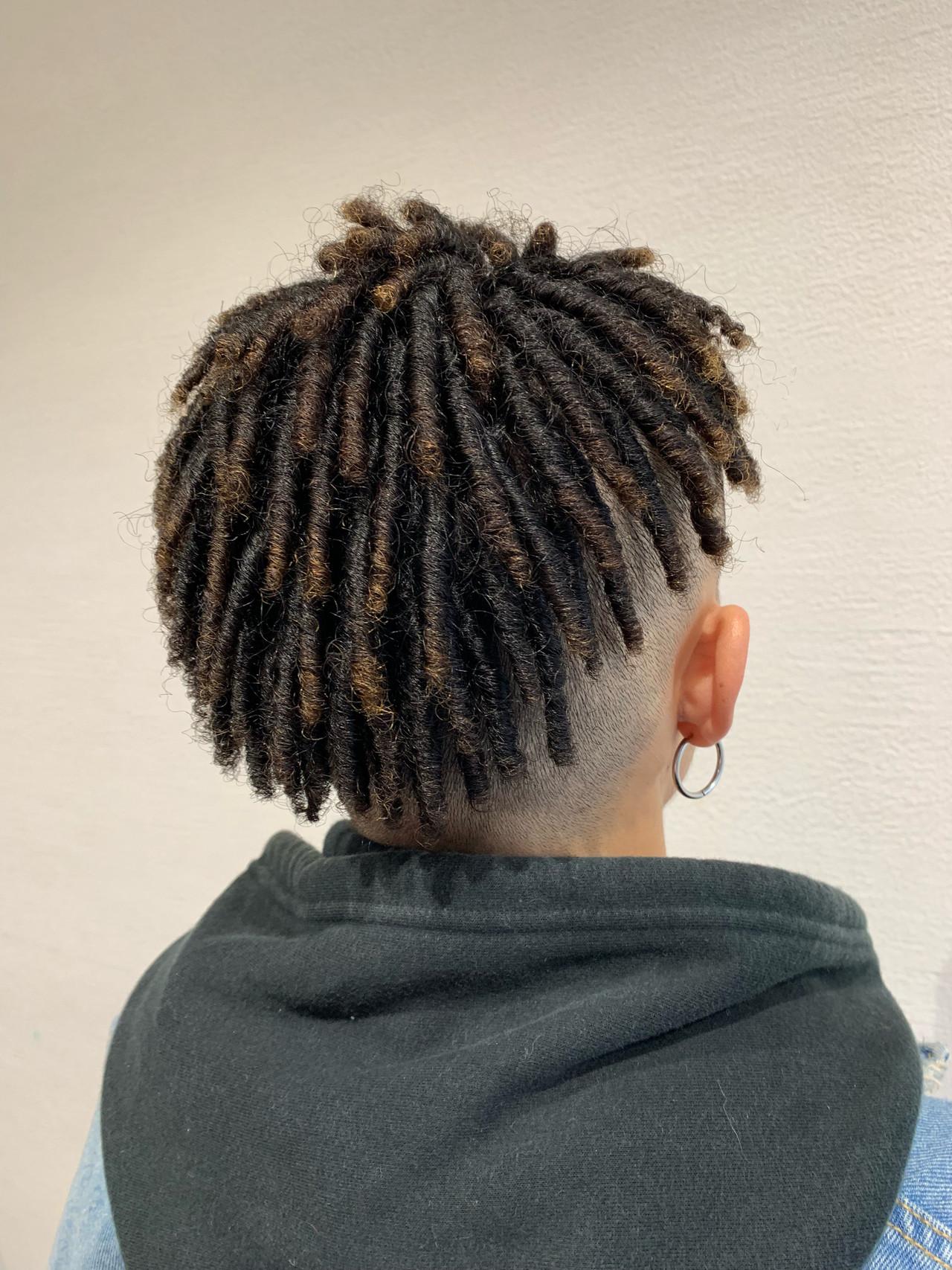髪 質 黒人