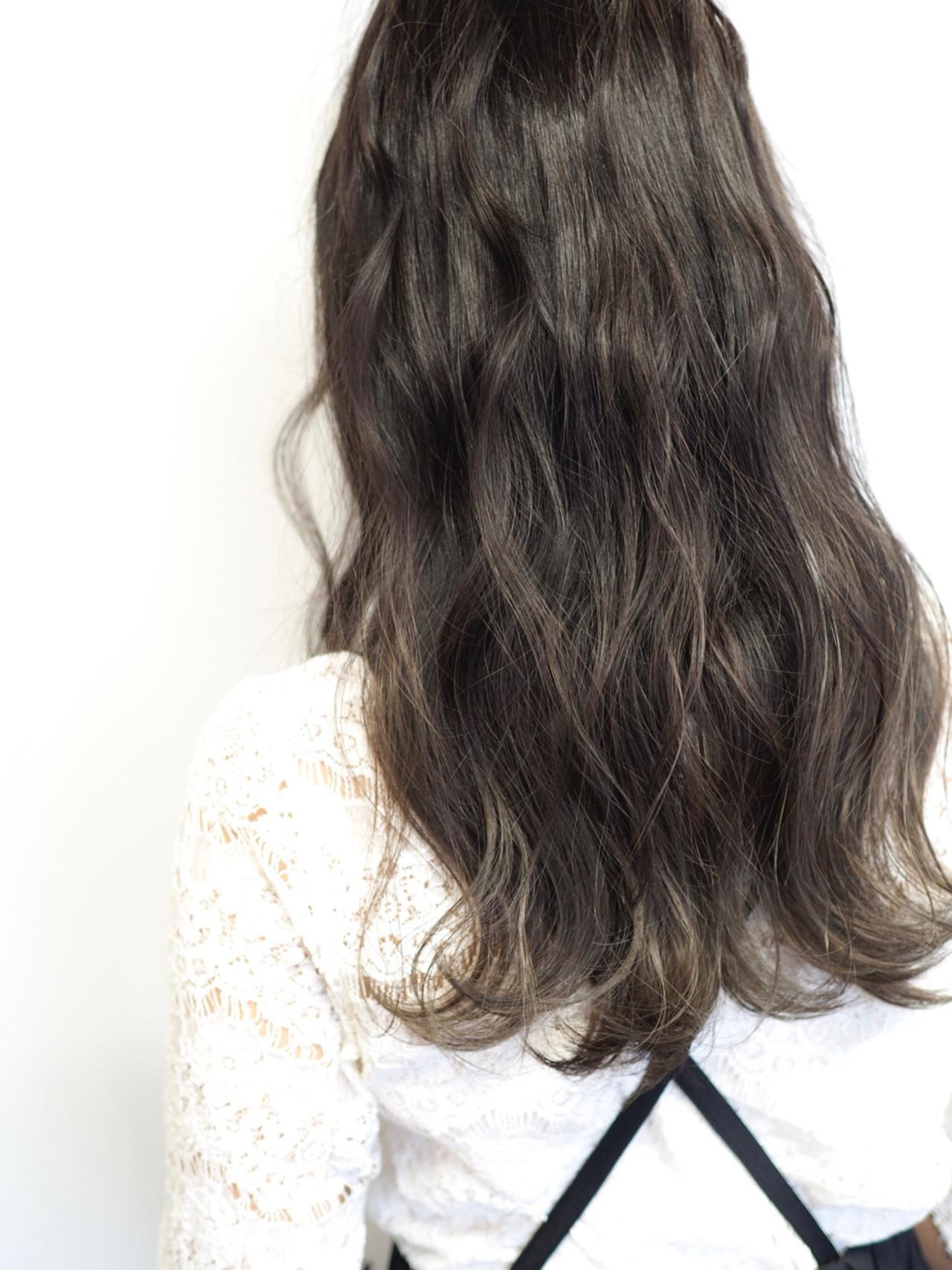 透明感 デート ナチュラル 秋 ヘアスタイルや髪型の写真・画像 | 西村涼 / airsalon