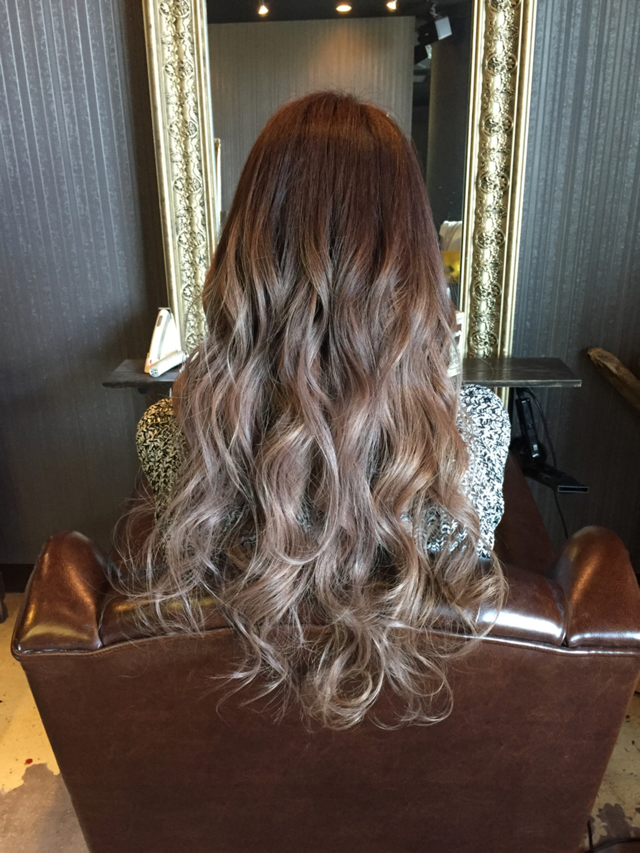 ストリート 暗髪 グラデーションカラー アッシュ ヘアスタイルや髪型の写真・画像 | ☆Ray☆ /