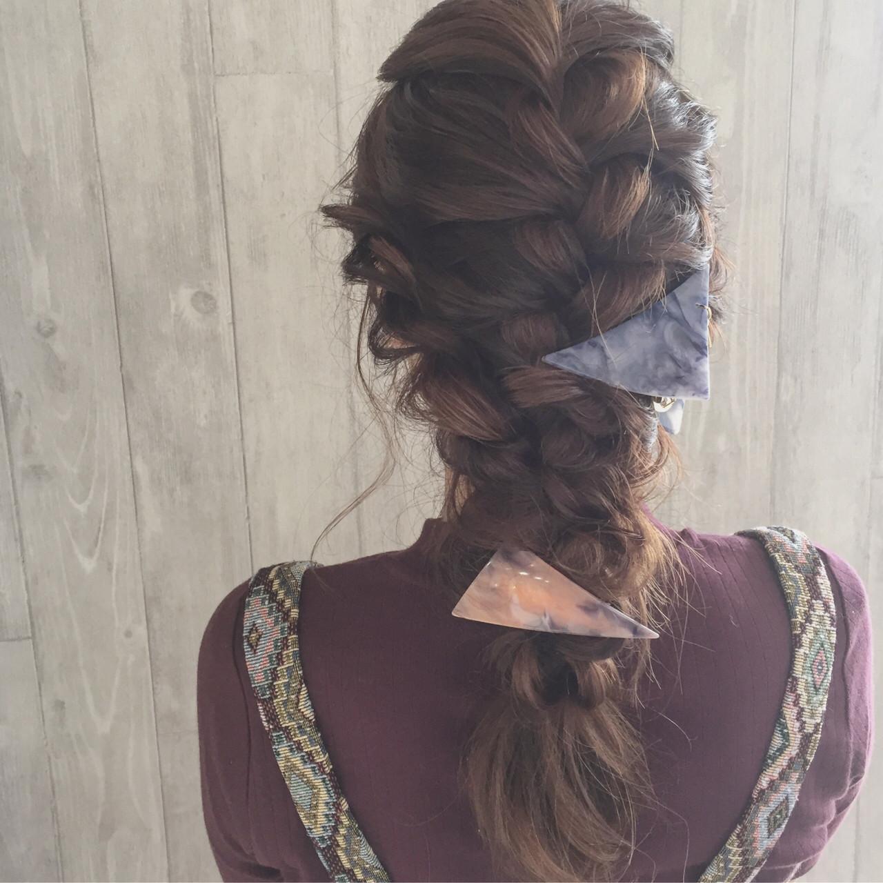 ポニーテール×スカーフで作る簡単可愛いヘアスタイル♡ 宮田 恵里香
