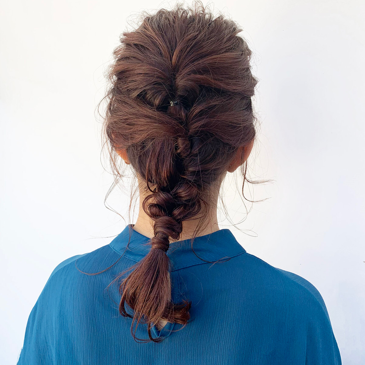 デート 簡単ヘアアレンジ ヘアアレンジ セミロング ヘアスタイルや髪型の写真・画像 | 中尾 寿揮 / Anna Lanna