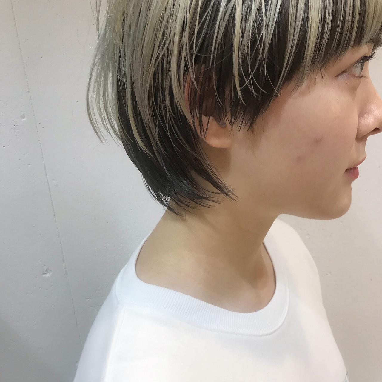 ショート 簡単ヘアアレンジ アウトドア 黒髪 ヘアスタイルや髪型の写真・画像 | bibito crew / bibito