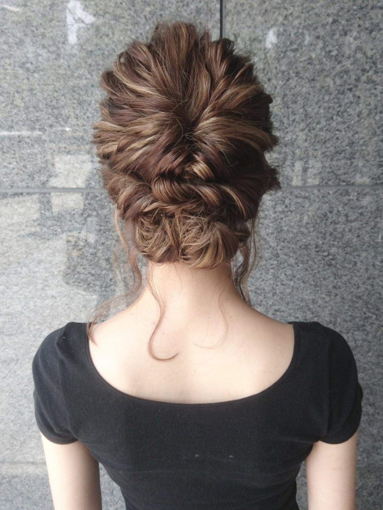 結婚式 こなれ感 エレガント 上品 ヘアスタイルや髪型の写真・画像 | 島田 和也 / hair&spa feliceMICHI