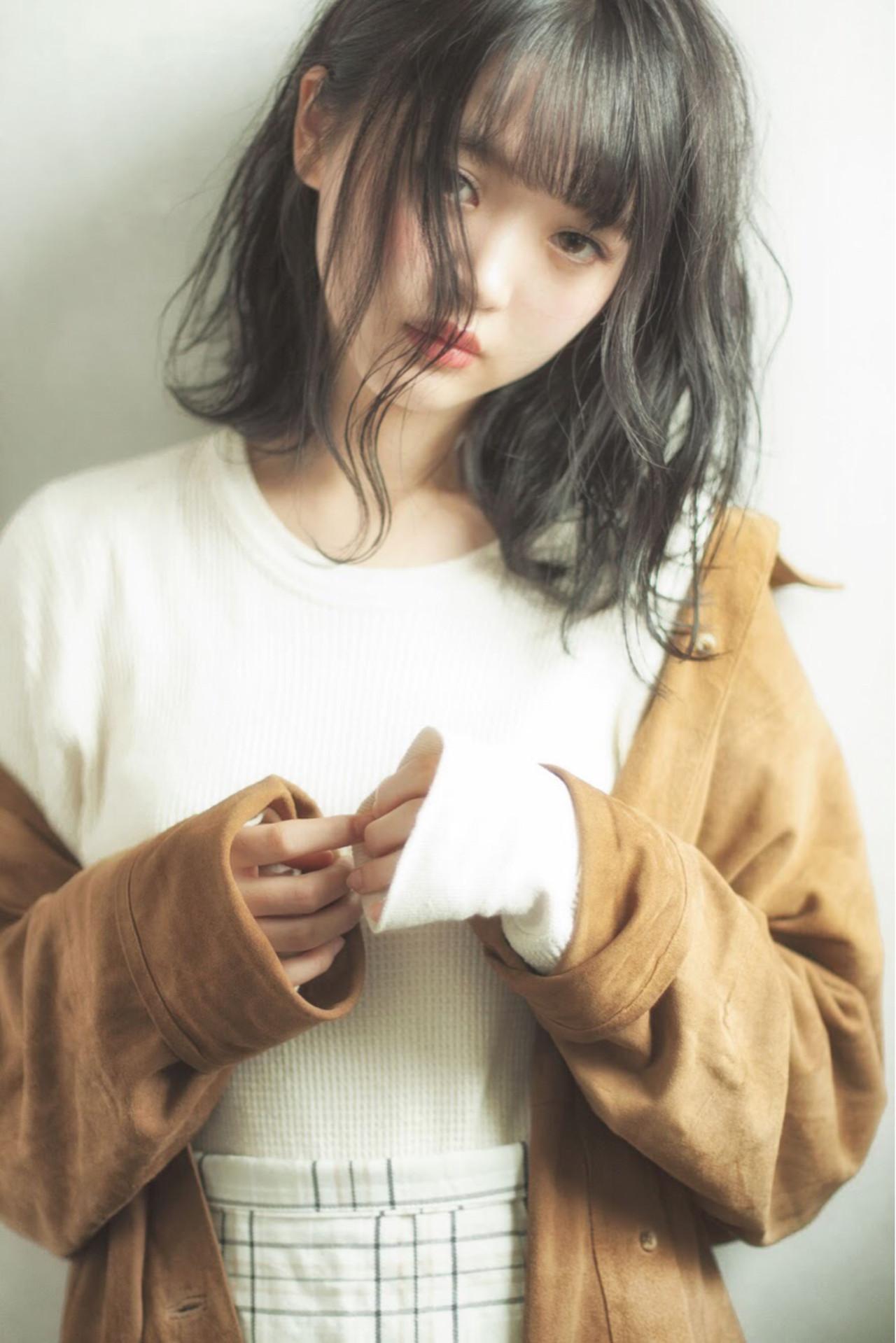 フェミニン 色気 ウェーブ 小顔 ヘアスタイルや髪型の写真・画像   日野 達也 / GO TODAY  SHAiRE SALON