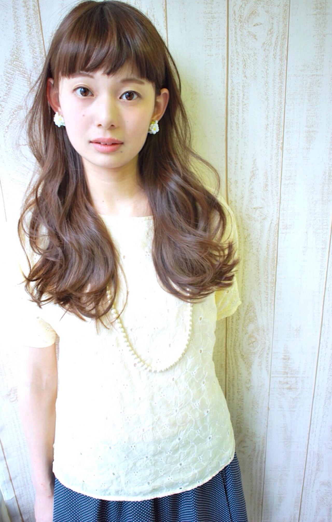 リラックス セミロング ゆるふわ 似合わせ ヘアスタイルや髪型の写真・画像 | 柴立吉之助 / Moon jeje (ムーンジェジェ)