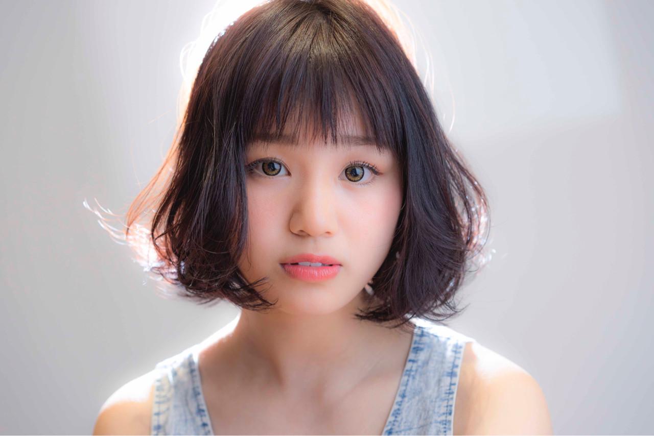 ザクザクがおしゃれ♡「シースルーバング」「ザクザクバング」でサクッとイメチェン☆ 山口純一郎