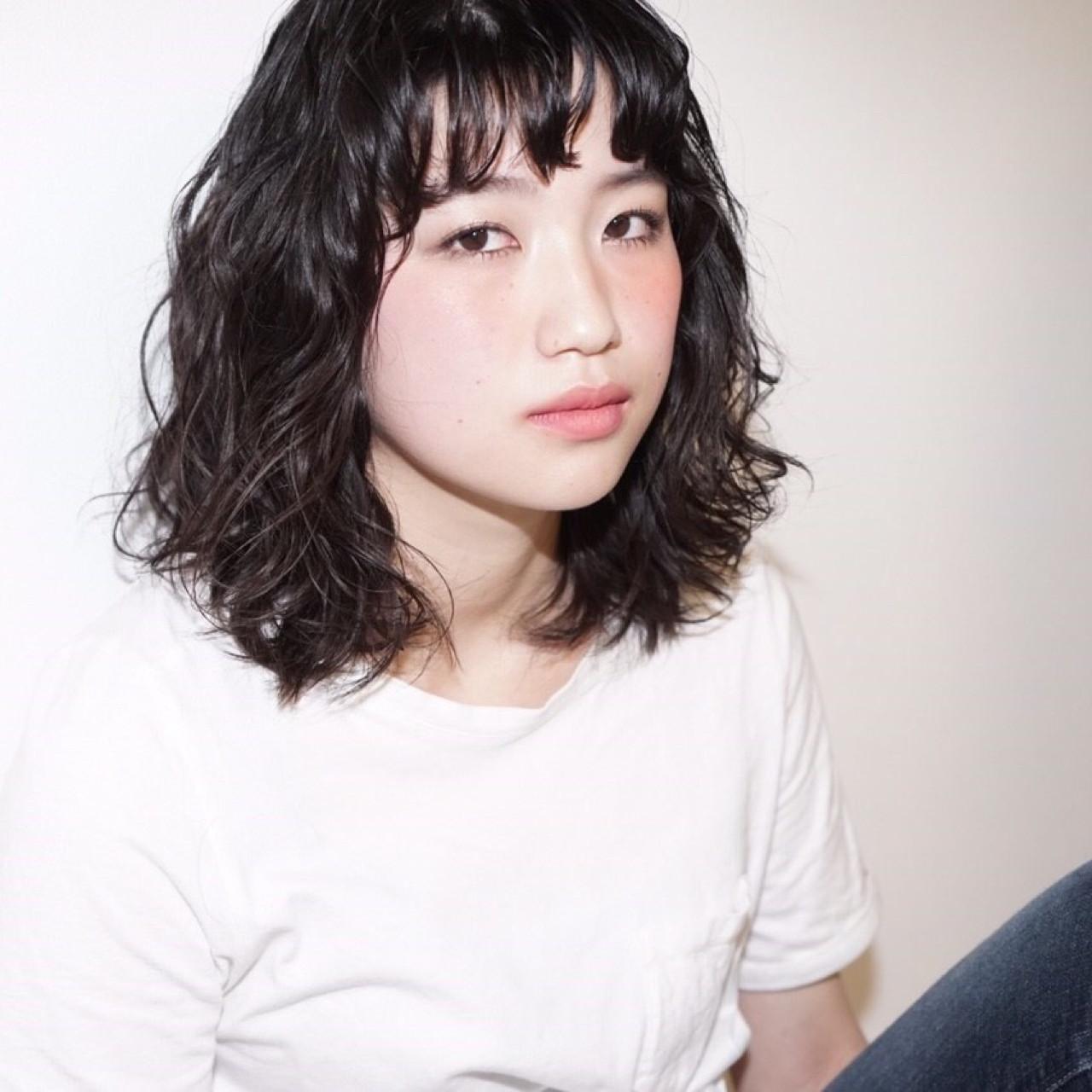 ダメージレス&長持ち☆クリープパーマが普通のパーマよりも優秀説!? Risa Shibahara