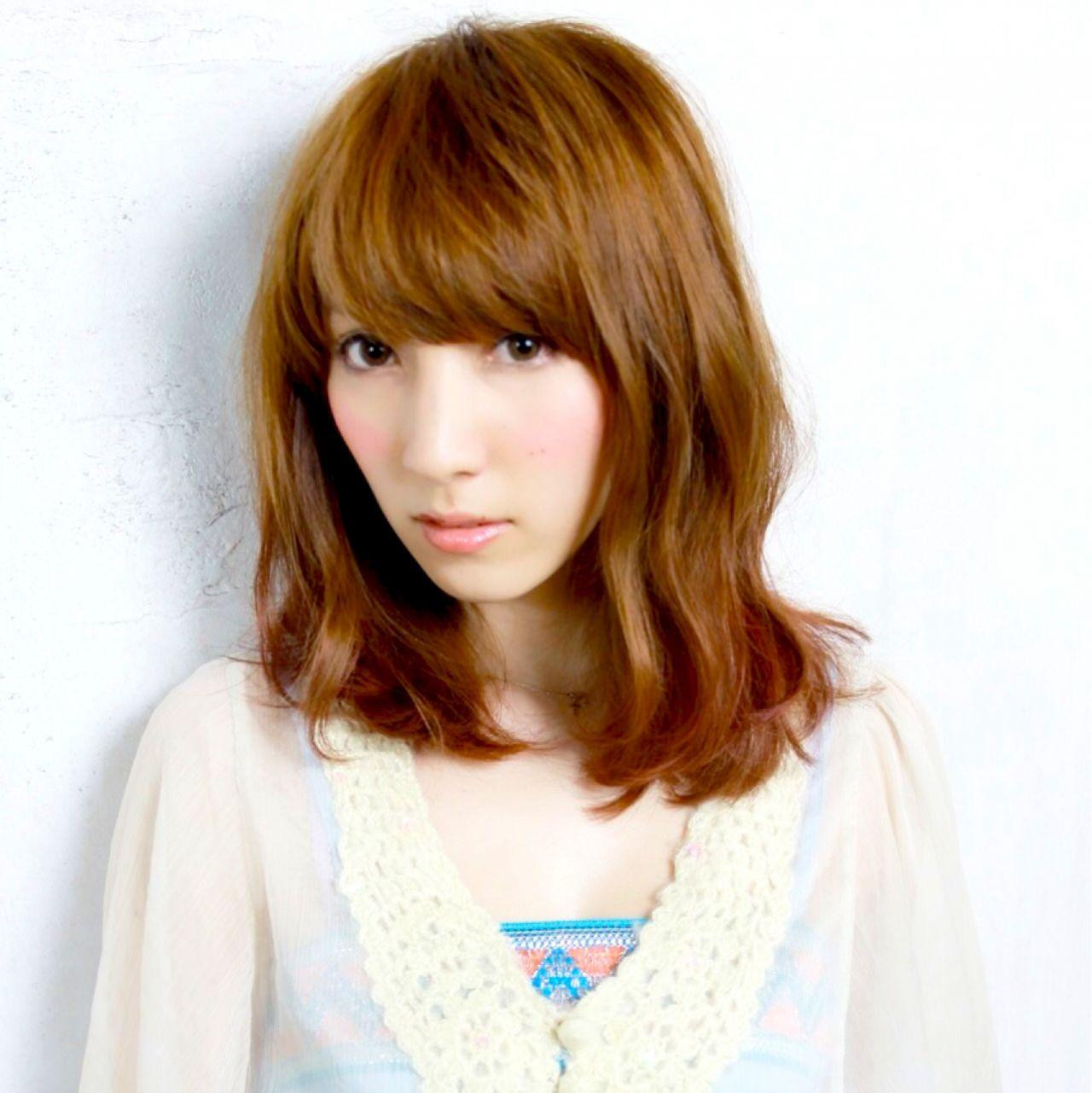愛され コンサバ 大人かわいい フェミニン ヘアスタイルや髪型の写真・画像 | hiiiii /