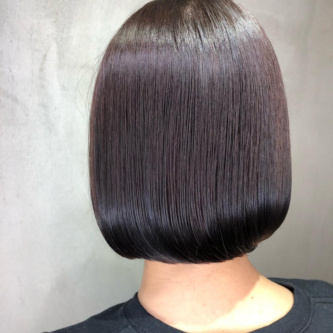 ミニボブ ベリーショート ショートボブ ボブ ヘアスタイルや髪型の写真・画像 | 筒井 隆由 / Hair salon mode