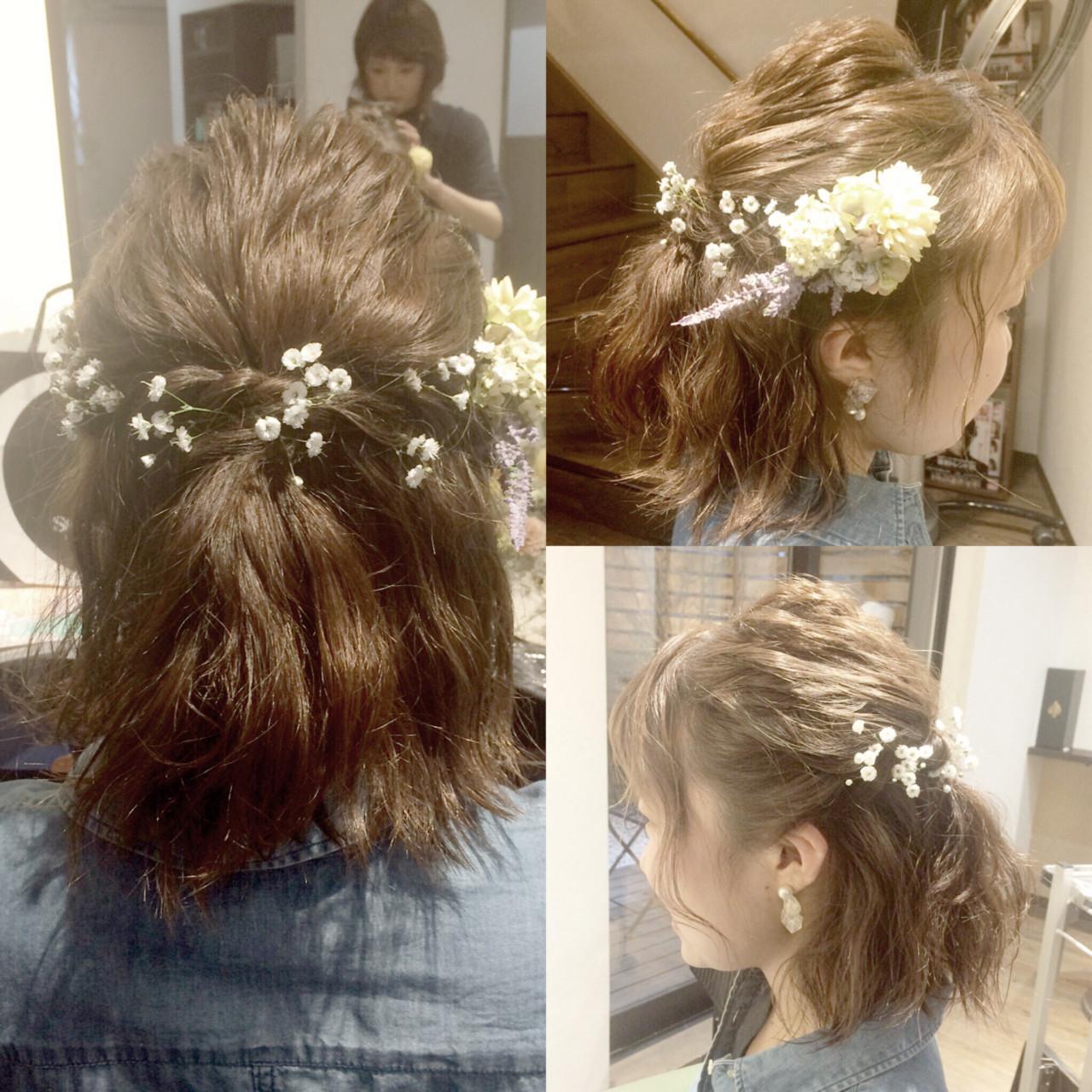 花咲く季節。頭にもお花を咲かせませんか? chie / BELO