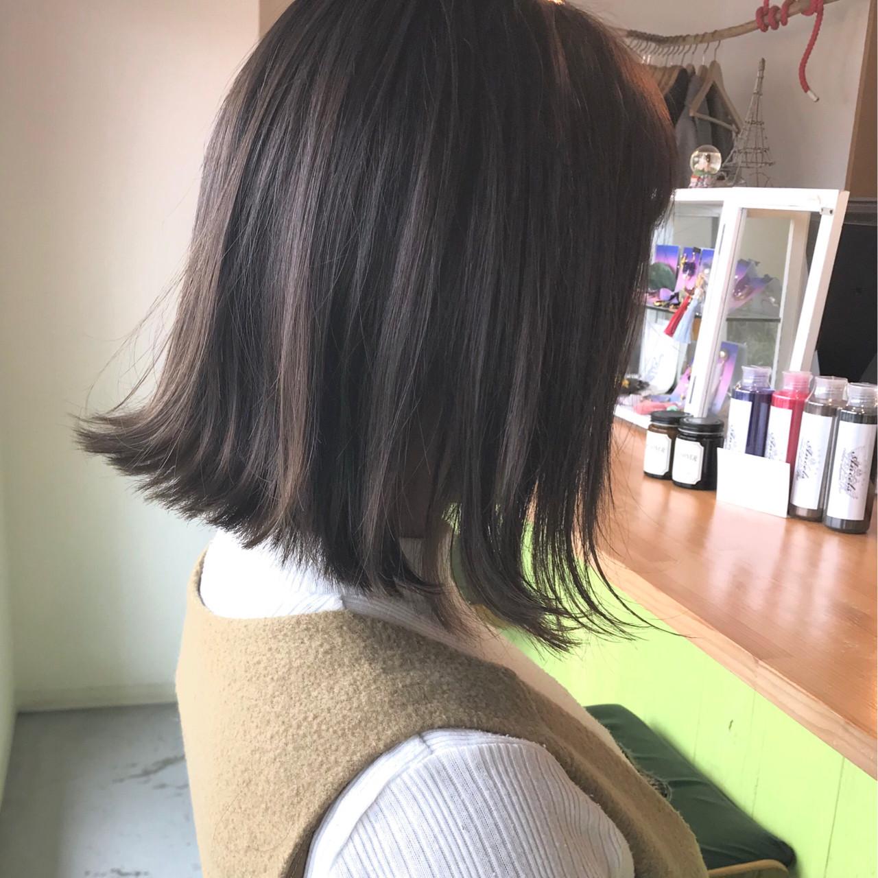 外国人風カラー アンニュイ ナチュラル 切りっぱなし ヘアスタイルや髪型の写真・画像   sowi 阿部 辰也 / sowi hair design ソーイ