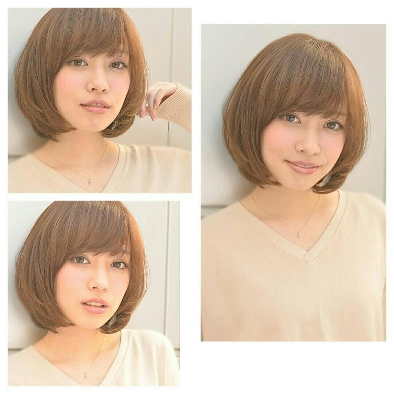 ショート 前髪あり ゆるふわ ブラウン ヘアスタイルや髪型の写真・画像 | 平桜 真浩/RED☆HOT / REDHOT