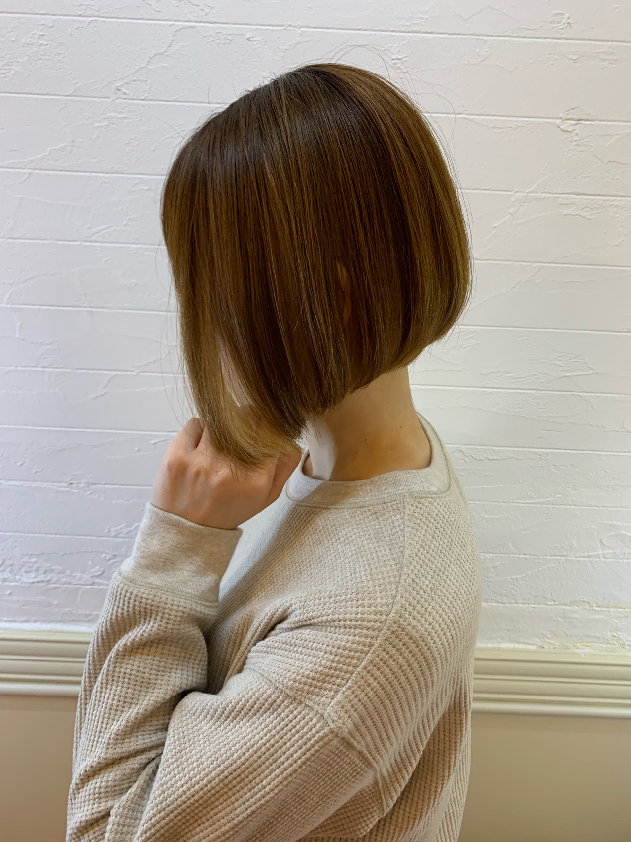 ショート ショートボブ 黒髪ショート 丸みショート ヘアスタイルや髪型の写真・画像   米村ススム / morio from London narimasu3