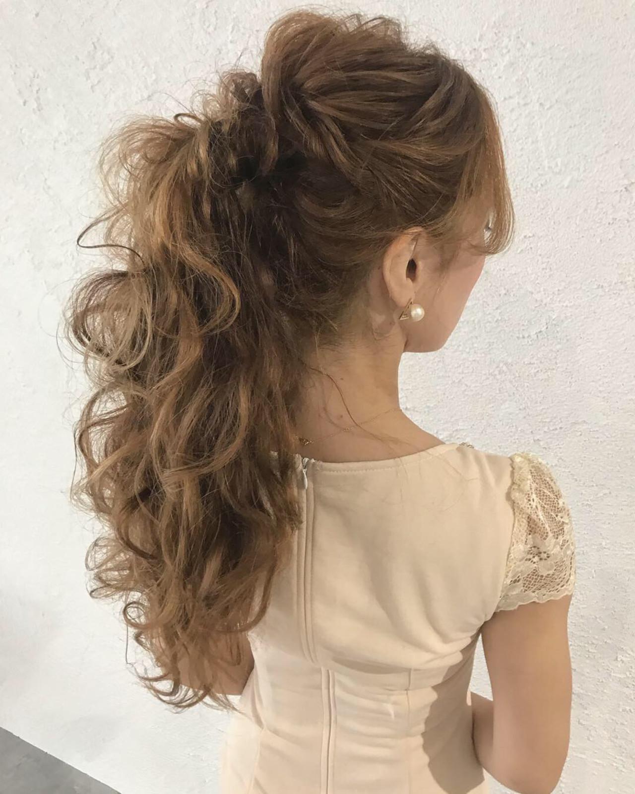 デート ロング 結婚式 大人かわいい ヘアスタイルや髪型の写真・画像 | YUJI / LIICHI / LIICHI (リイチ)