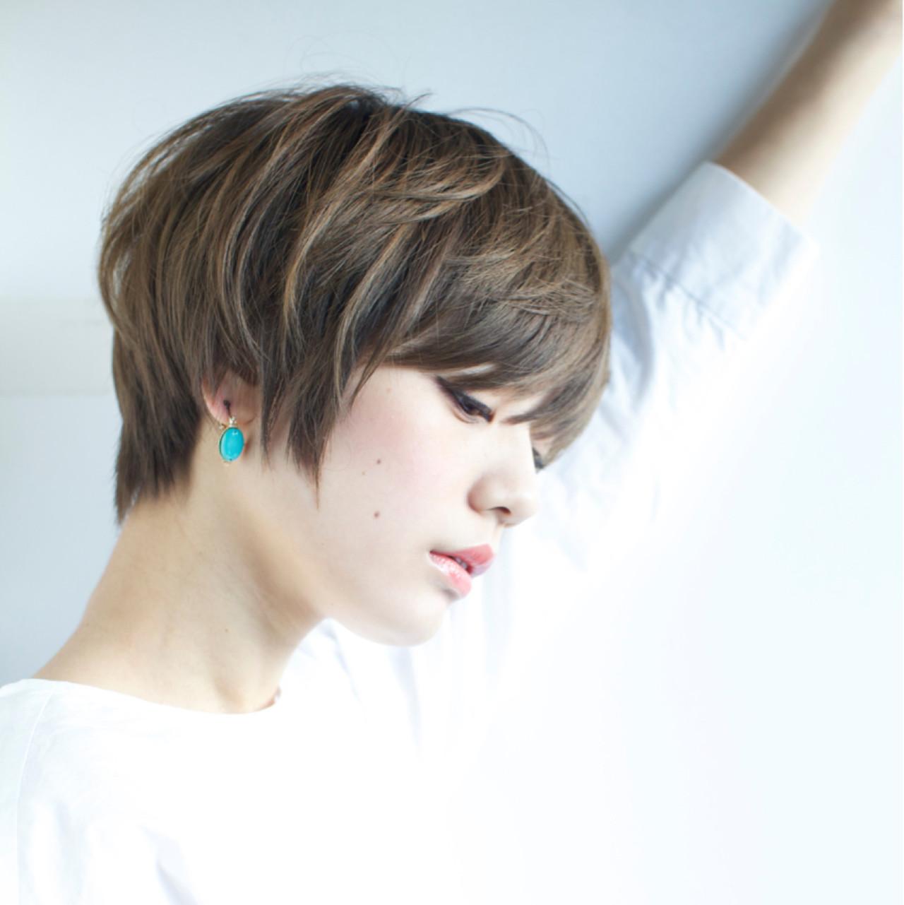 大人女子 小顔 ニュアンス 大人かわいい ヘアスタイルや髪型の写真・画像 | 石川 瑠利子 /