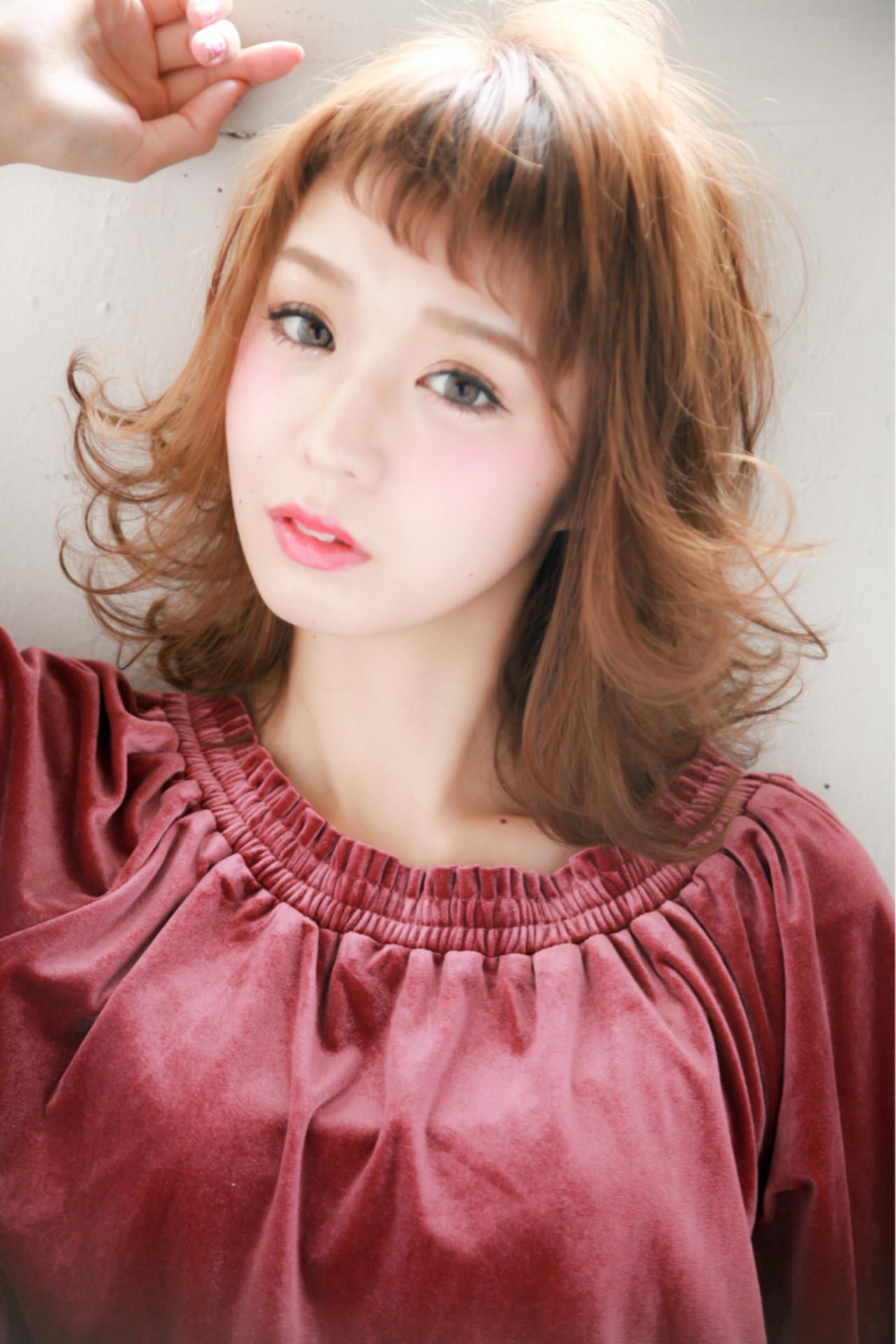 ボブ ミディアム ナチュラル 大人女子 ヘアスタイルや髪型の写真・画像 | 佐藤 章太 / Heartim代官山