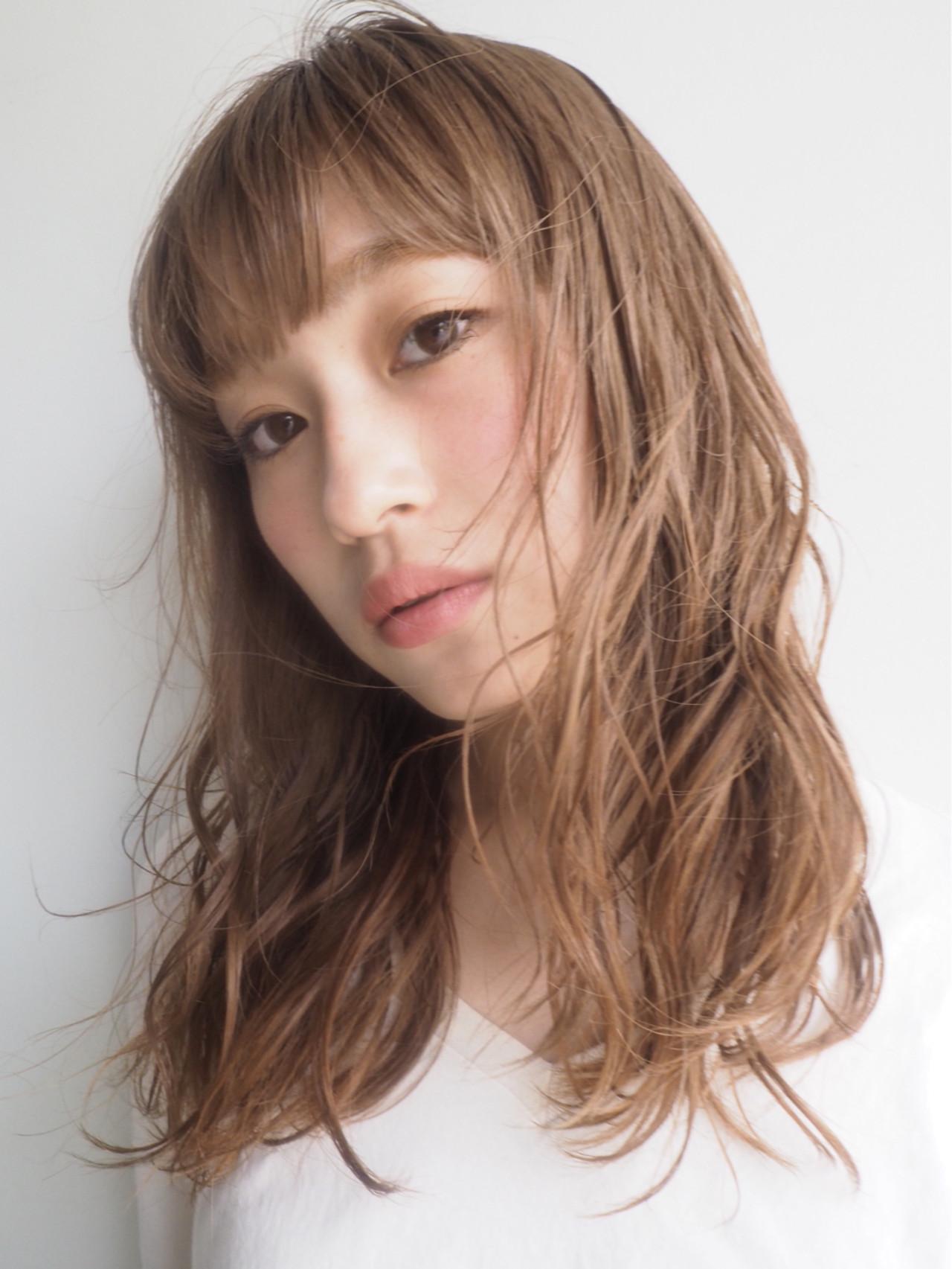 大人かわいい ゆるふわ くせ毛風 パーマ ヘアスタイルや髪型の写真・画像 | 井上博貴 / assort(アソート)