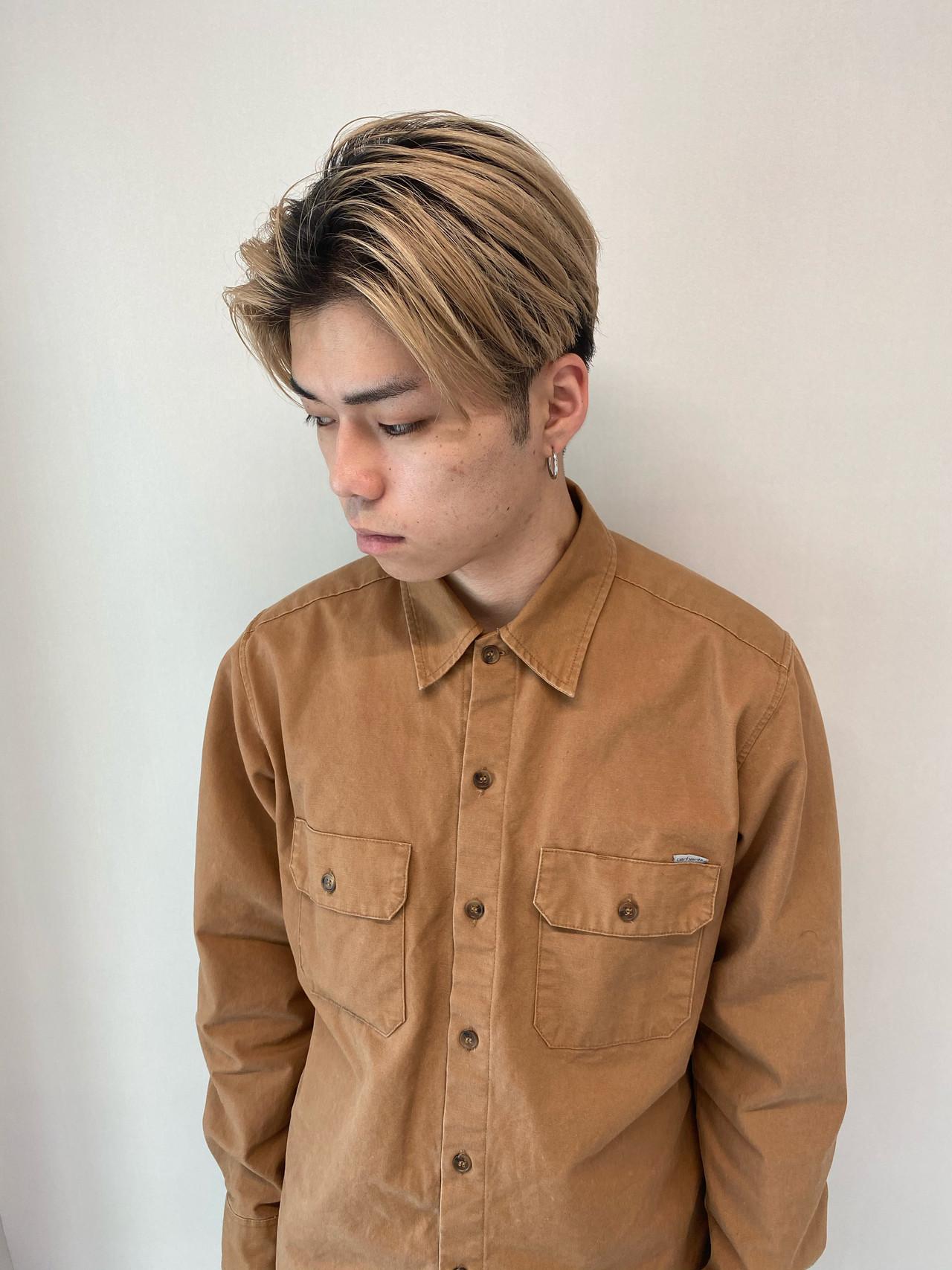 メンズカジュアル ストリート メンズヘア ショート ヘアスタイルや髪型の写真・画像 | 永野正芳(ニコフクオカヘアメイク 天神) / NIKO  Fukuoka Hairmake