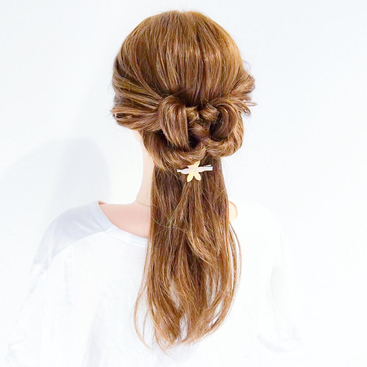 エレガント アウトドア 上品 オフィス ヘアスタイルや髪型の写真・画像 | 美容師HIRO/Amoute代表 / Amoute/アムティ