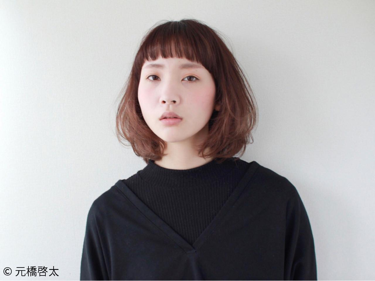 ミルクティー モード ベージュ ナチュラル ヘアスタイルや髪型の写真・画像 | 元橋啓太 / snob