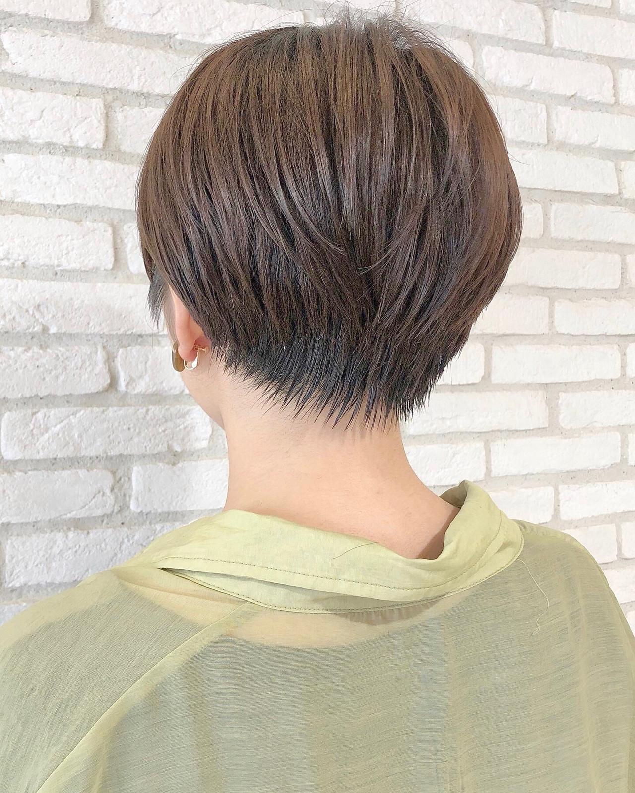 ベリーショート ナチュラル ショートヘア ショート ヘアスタイルや髪型の写真・画像 | 本田結(ほんだゆい)dydi表参道 / dydi表参道
