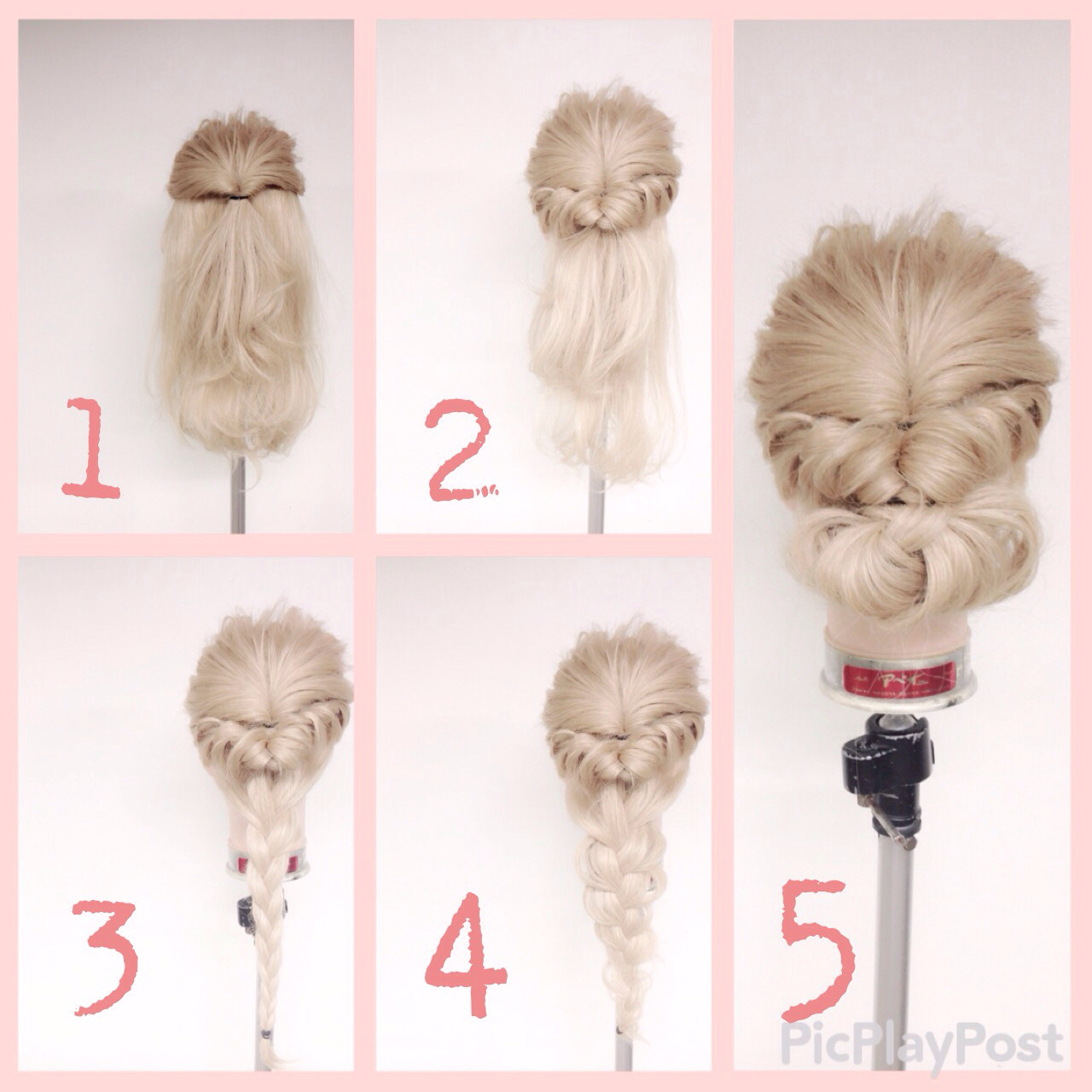 パーティ ショート 編み込み 簡単ヘアアレンジヘアスタイルや髪型の写真・画像
