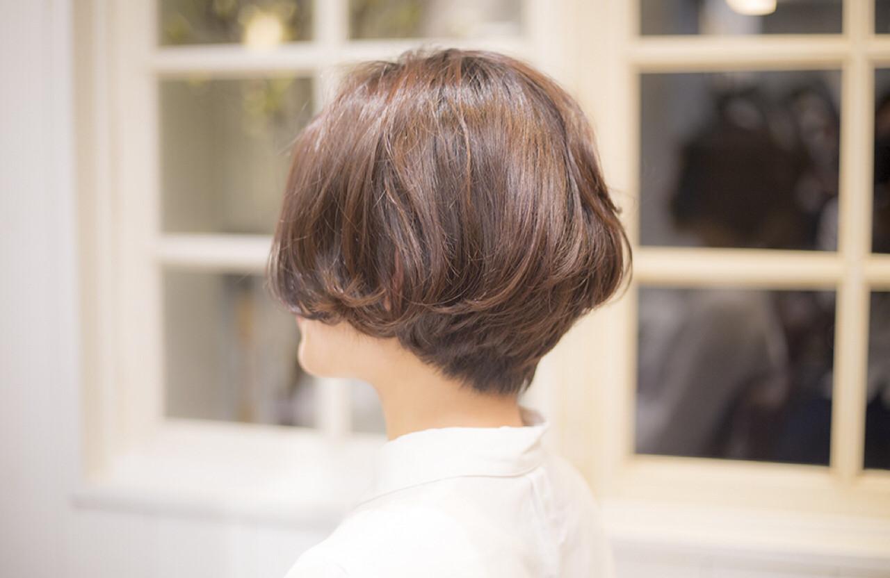 大人かわいい ナチュラル ショート 簡単 ヘアスタイルや髪型の写真・画像 | 花本 昇誉 / PLACE IN THE SUN