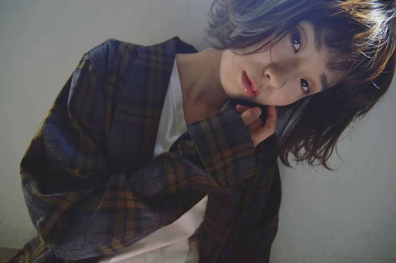 ナチュラル 大人かわいい 小顔 ボブ ヘアスタイルや髪型の写真・画像 | 杉本侑菜 (すぎもと ありな) /