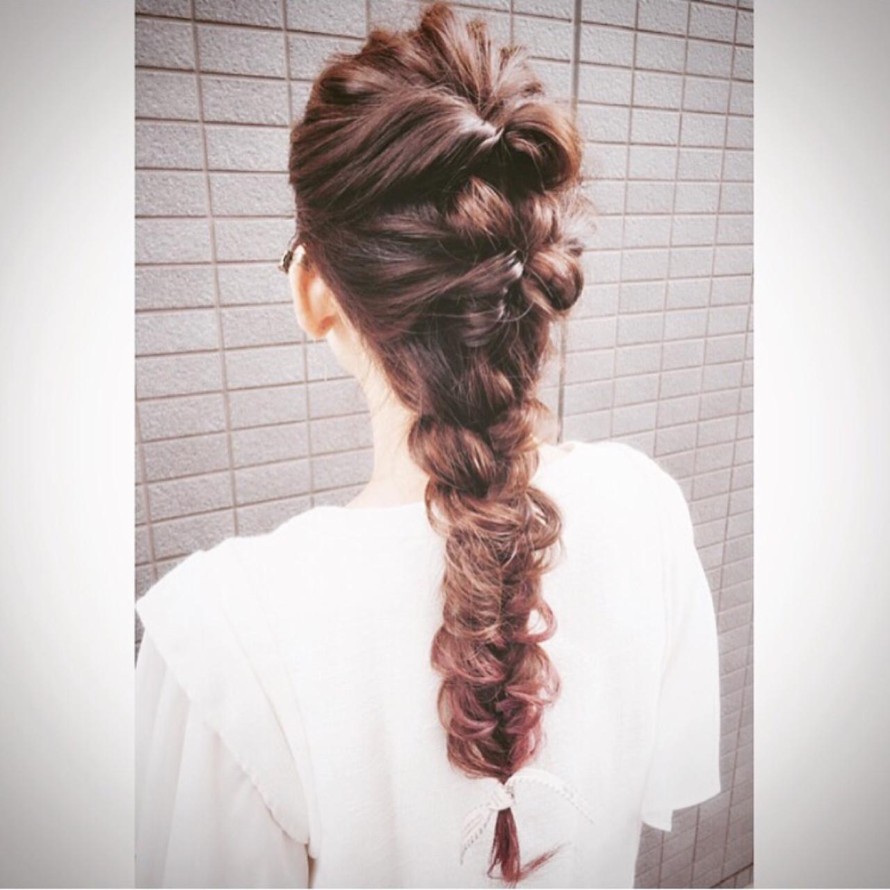 簡単にできるんです!難しそうなフィッシュボーンヘアアレンジ攻略法 ◆Takumi◆