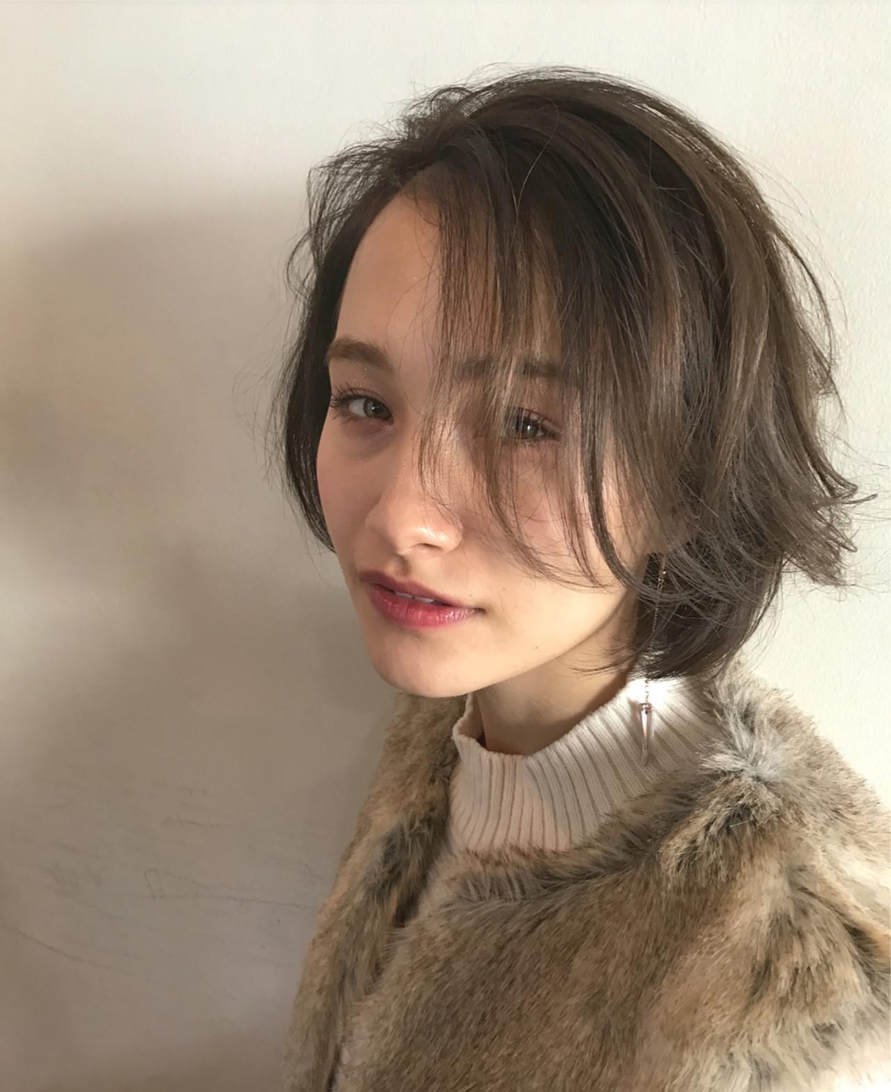 こなれ感 小顔 色気 ナチュラルヘアスタイルや髪型の写真・画像