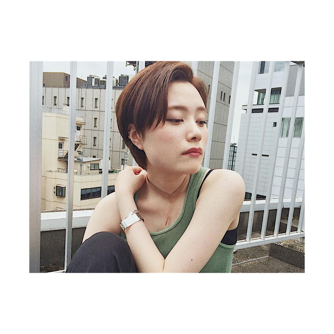 黒髪 小顔 似合わせ モード ヘアスタイルや髪型の写真・画像 | YUKINA / HOMIE TOKYO / HOMIE TOKYO