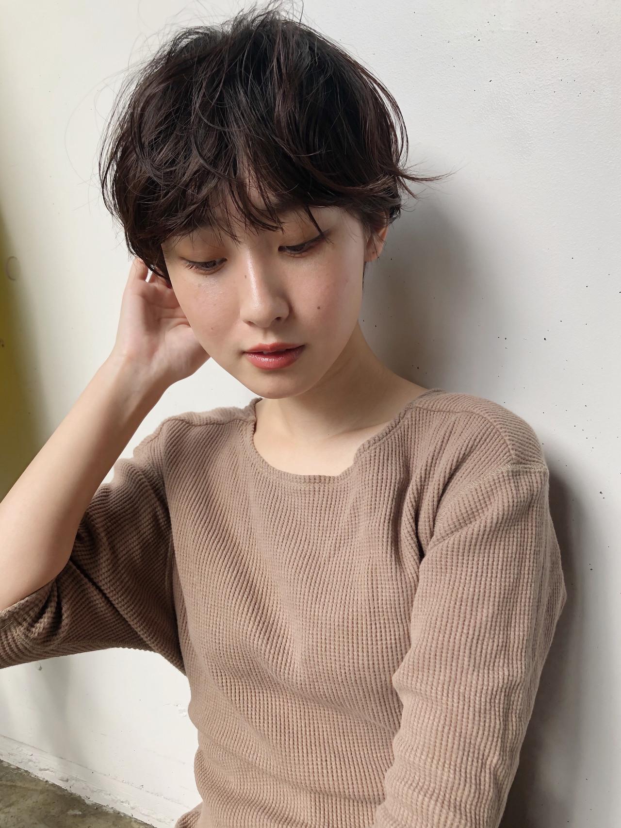 ベリーショート ナチュラル ショートボブ ショート ヘアスタイルや髪型の写真・画像 | 小林 優介 / ASSORT TOKYO