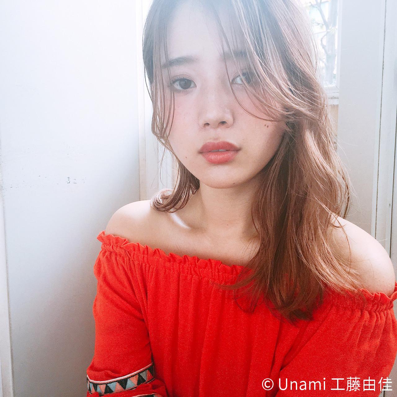 ゆるふわ 色気 パーマ 外国人風 ヘアスタイルや髪型の写真・画像 | Unami 工藤由佳 / Unami omotesando
