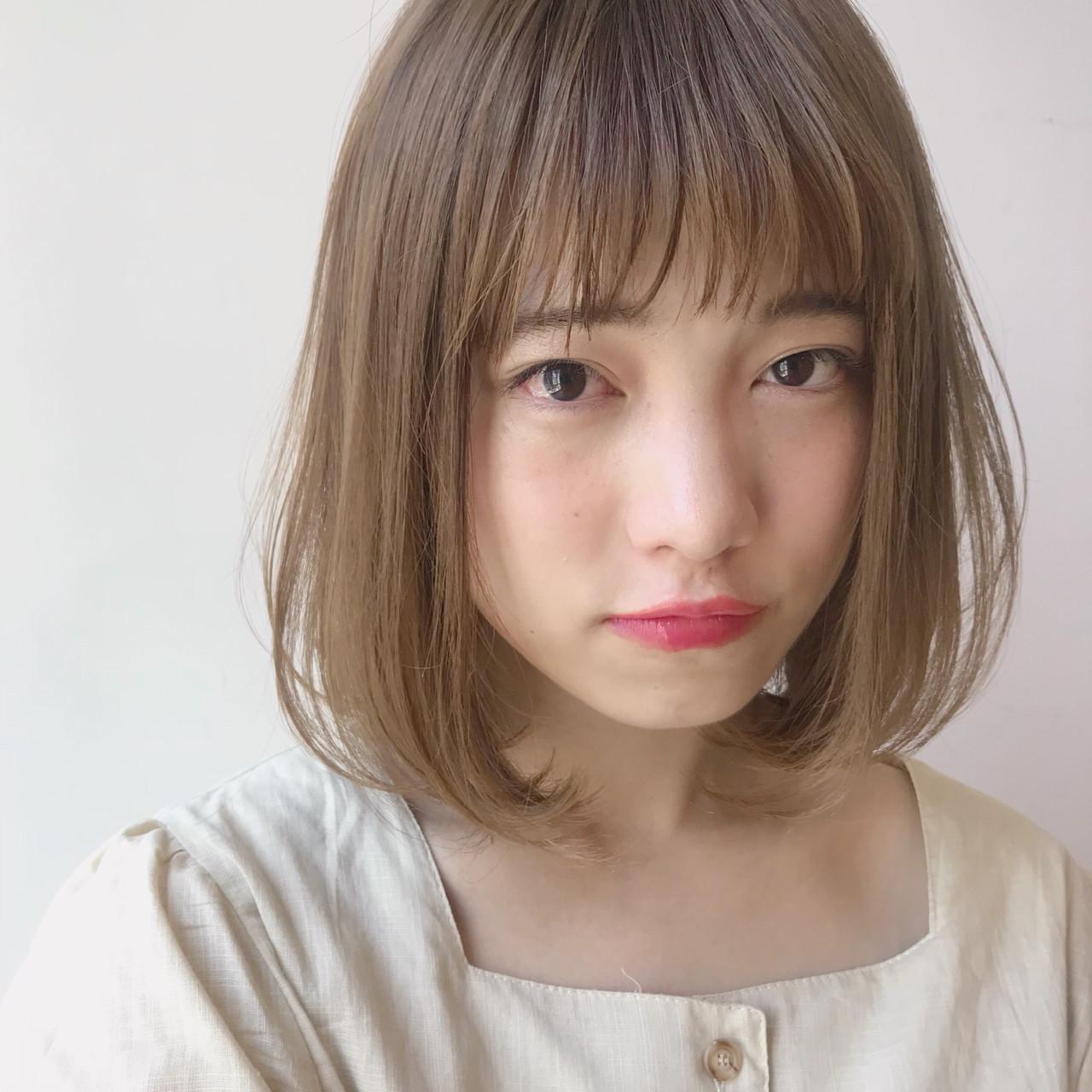 モテ髪 デート かわいい 透明感 ヘアスタイルや髪型の写真・画像   矢野佑太郎 / GARDEN harajuku