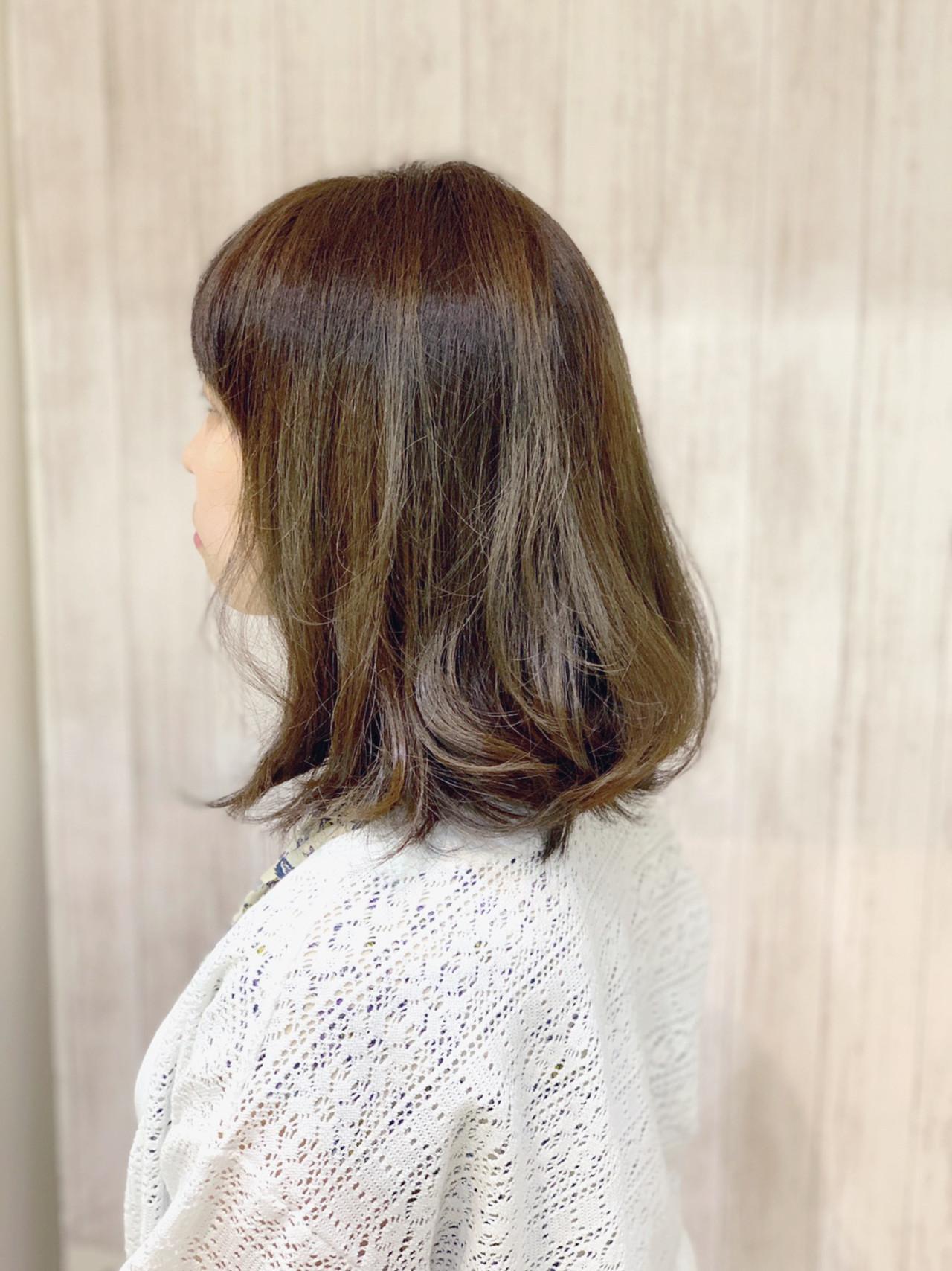 ガーリー ブリーチカラー ブリーチオンカラー ミディアム ヘアスタイルや髪型の写真・画像 | 石沢知康 / feel.aレキシントンプラザ店