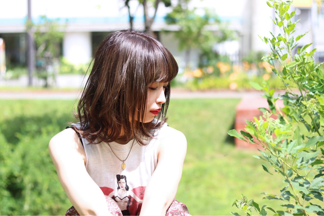 外国人風 ミディアム ナチュラル 外国人風カラー ヘアスタイルや髪型の写真・画像 | 清水 翔五 / sofa