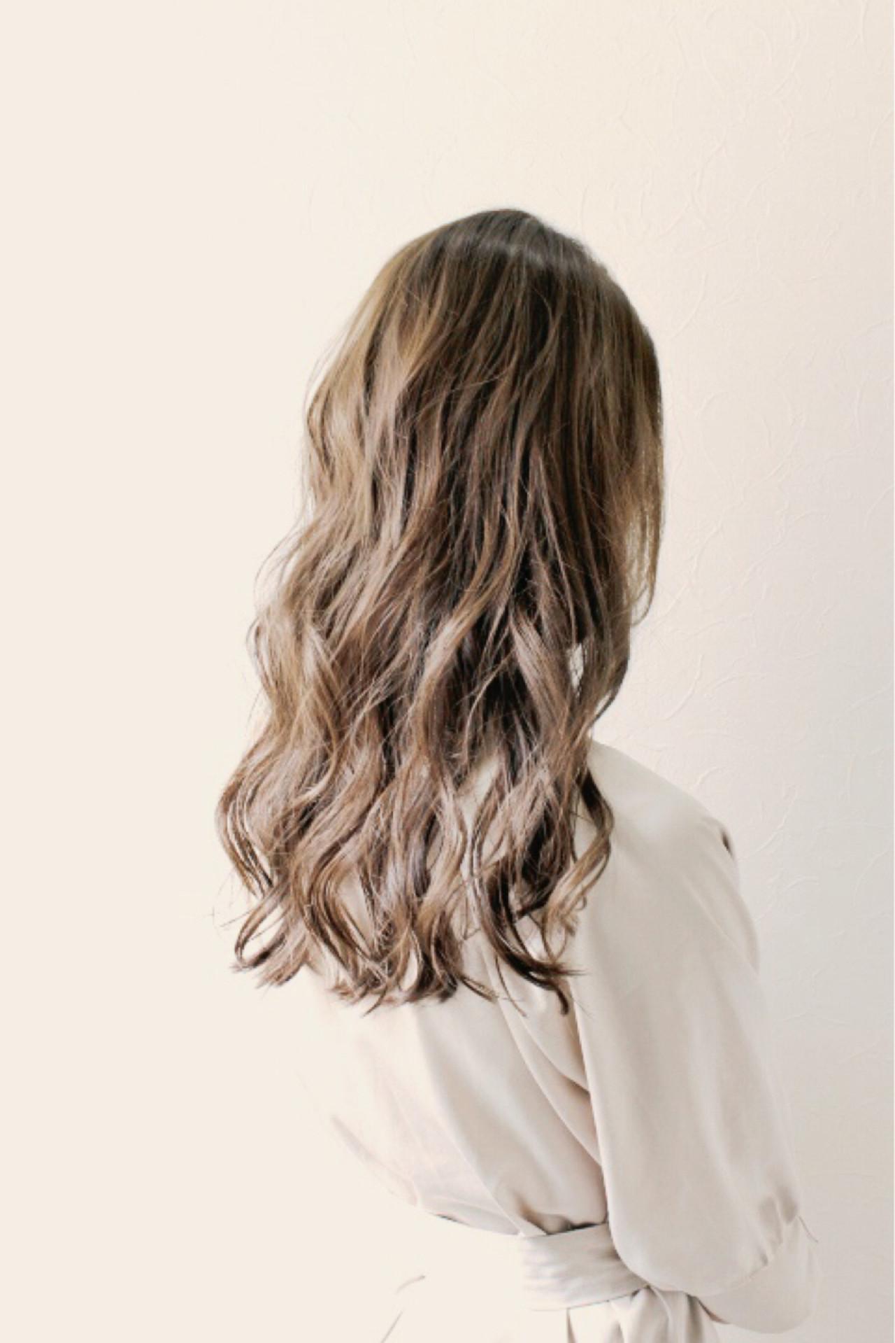 外国人風 ガーリー ウェーブ リラックス ヘアスタイルや髪型の写真・画像 | SHO / Rifull八王子